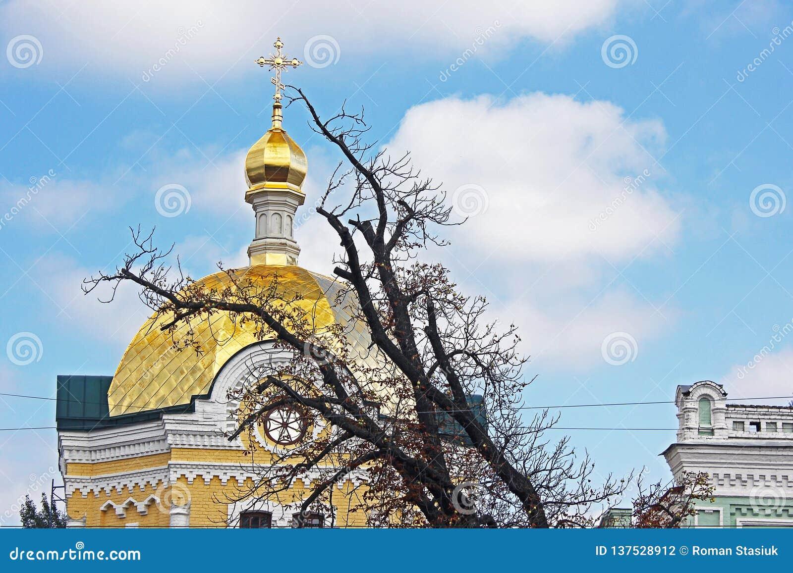 Куполы церков Церковь