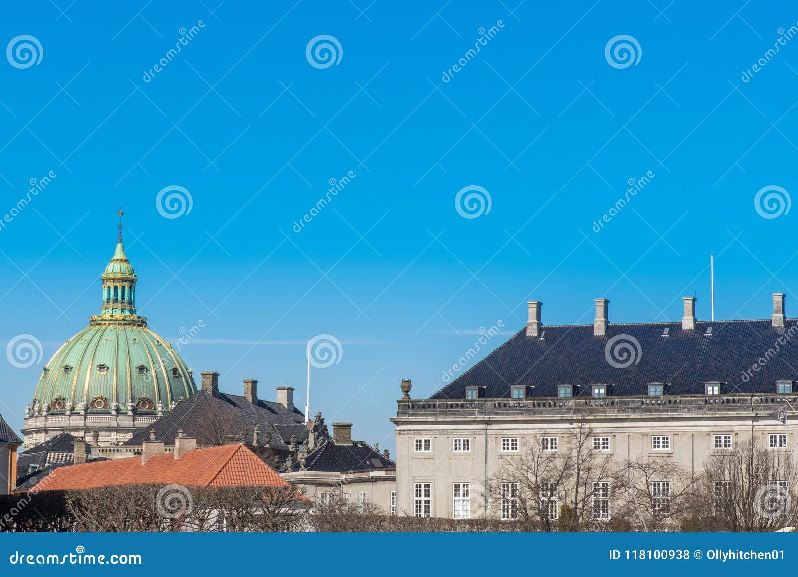 Купол церков Frederik, Copehagen Церковь Frederik m