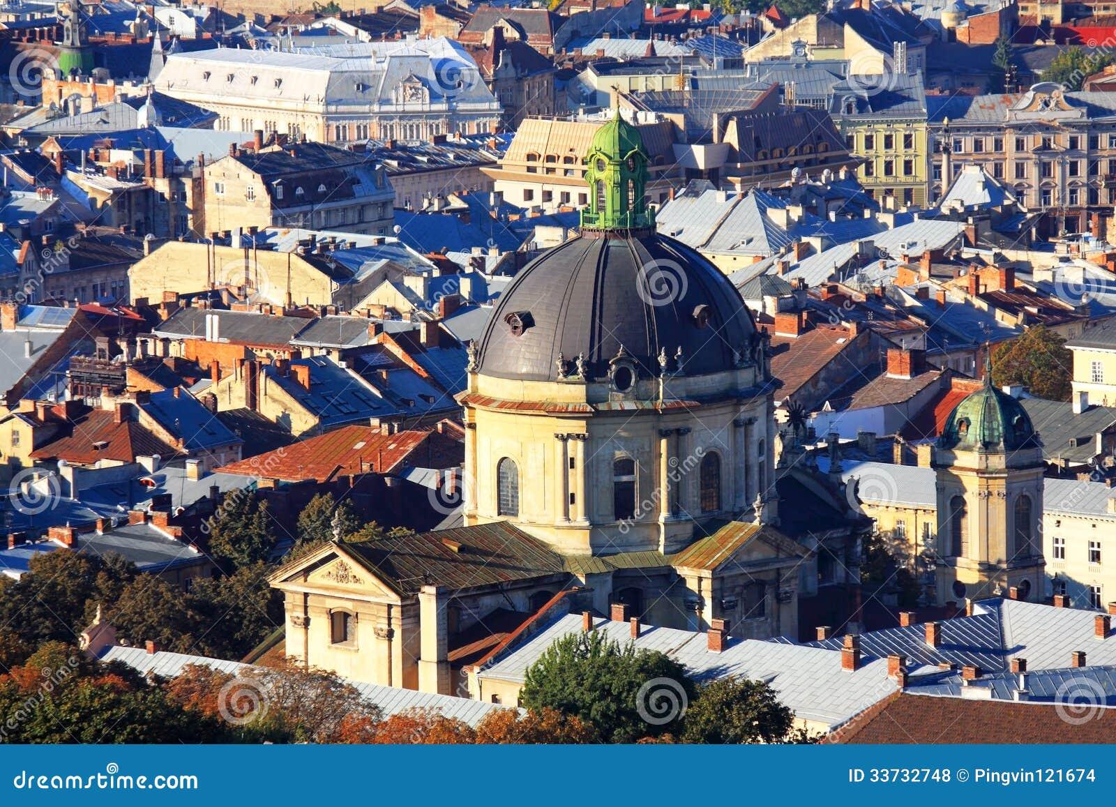 Купол католической кафедры, взгляд сверху