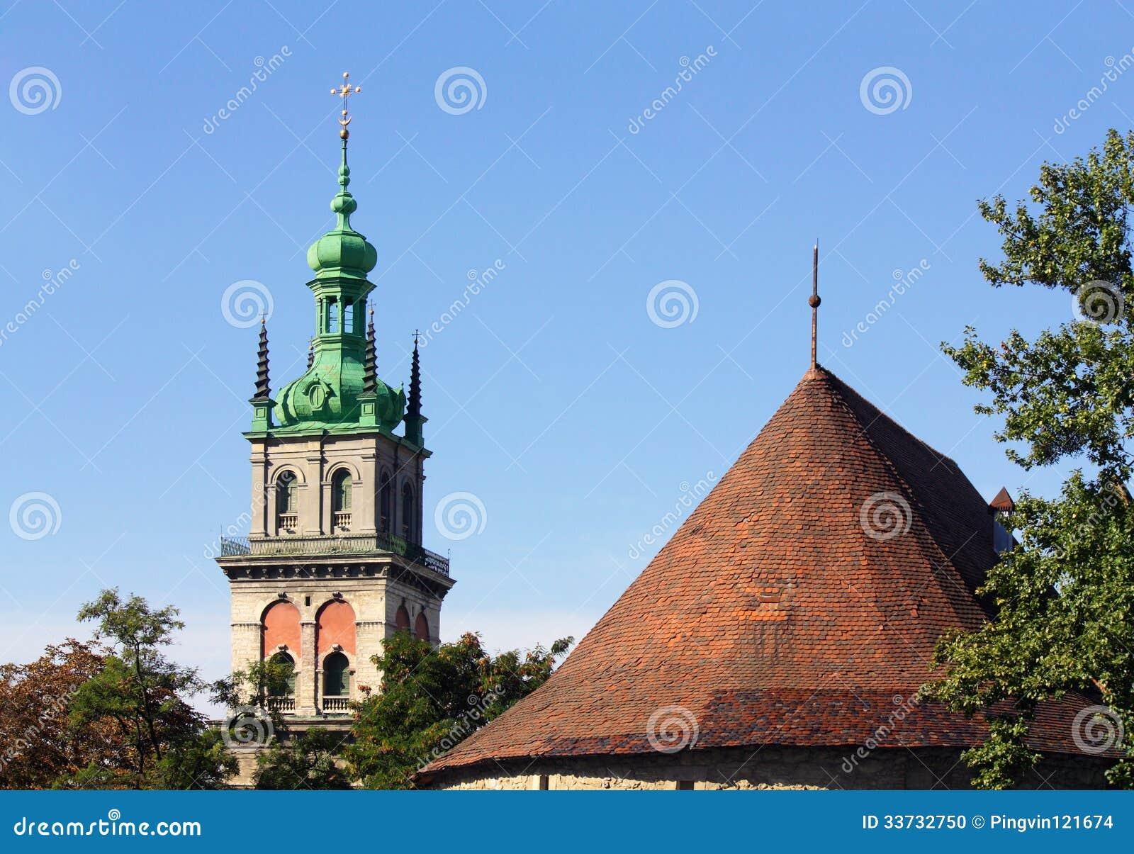 Куполы старого Lvov