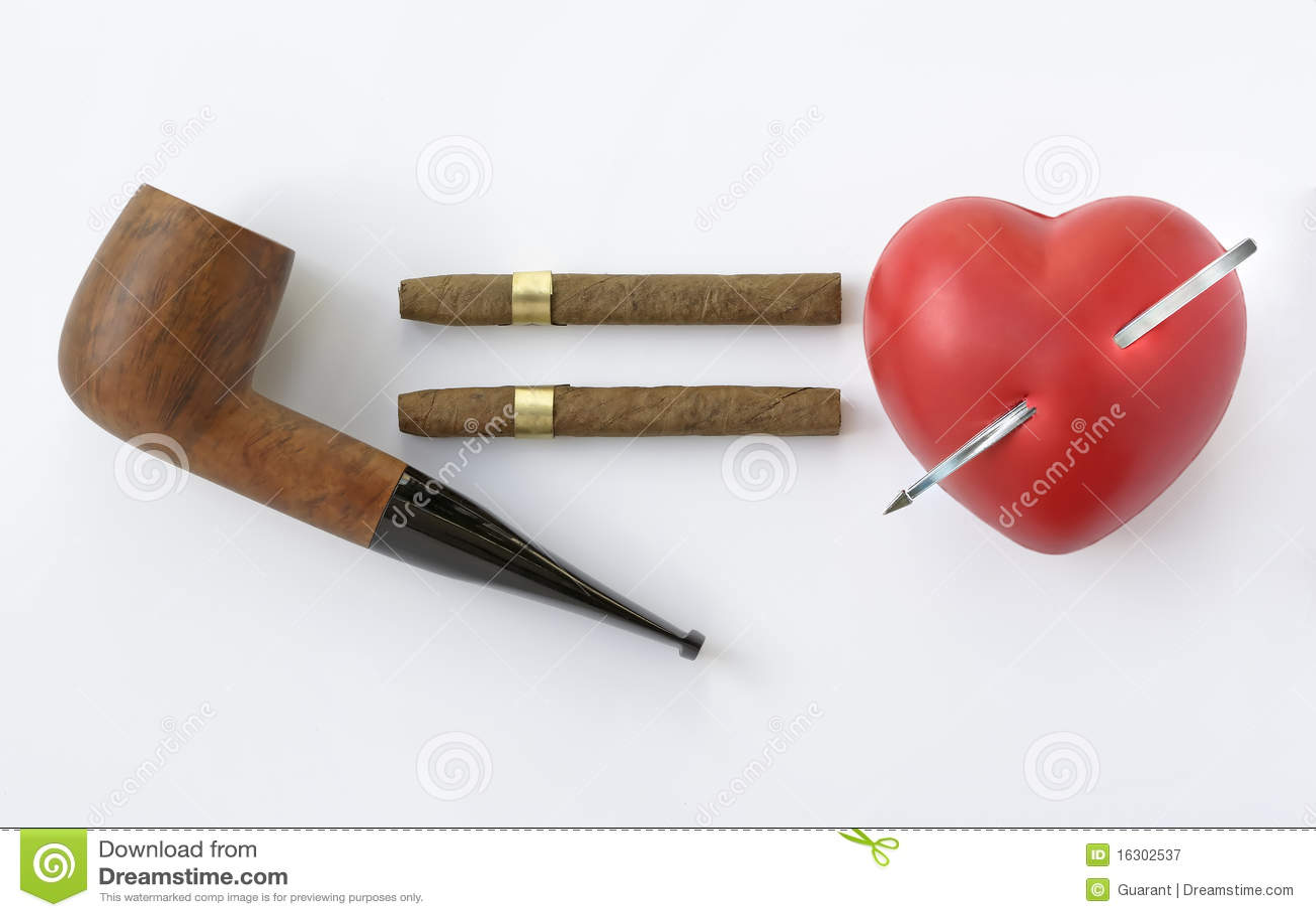 курить сердца опасности