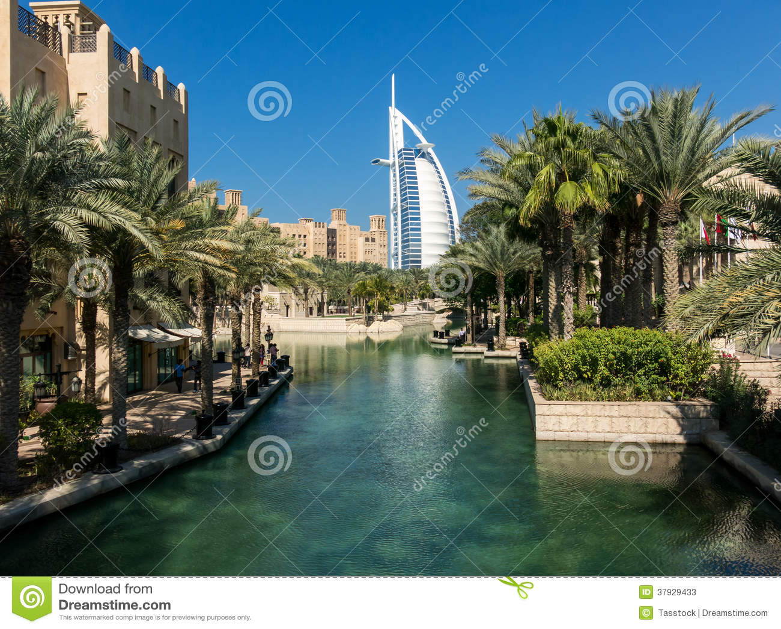 Курорт Madinat Jumeirah в Дубай