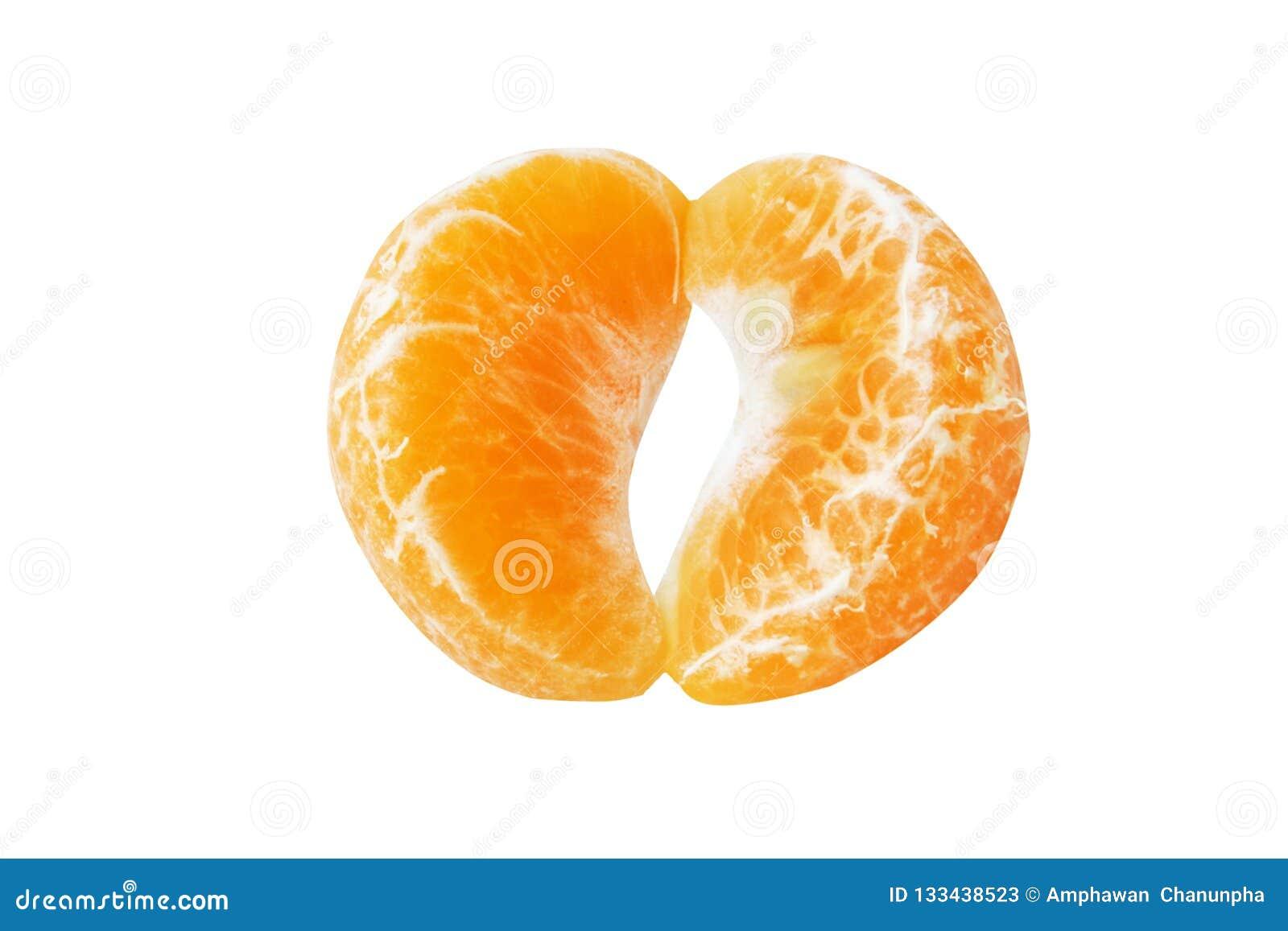 Кусок апельсина мандарина