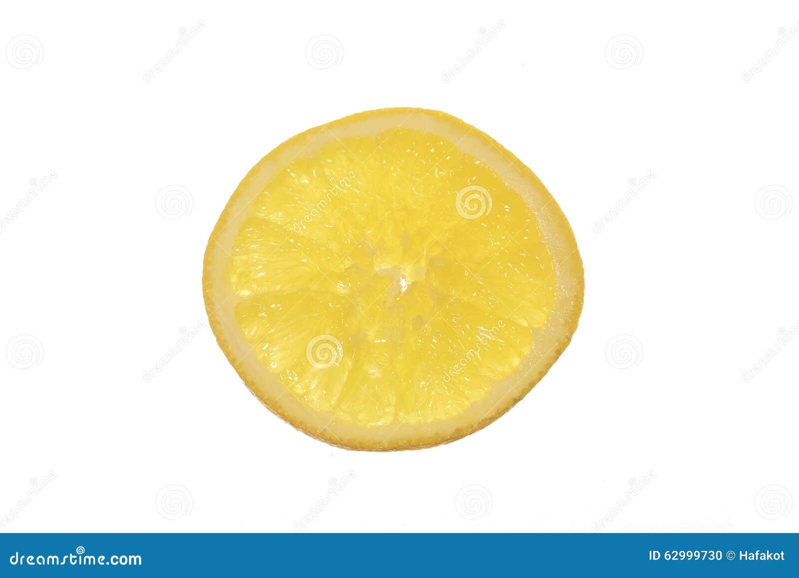 Кусок круглого апельсина изолированный на белизне