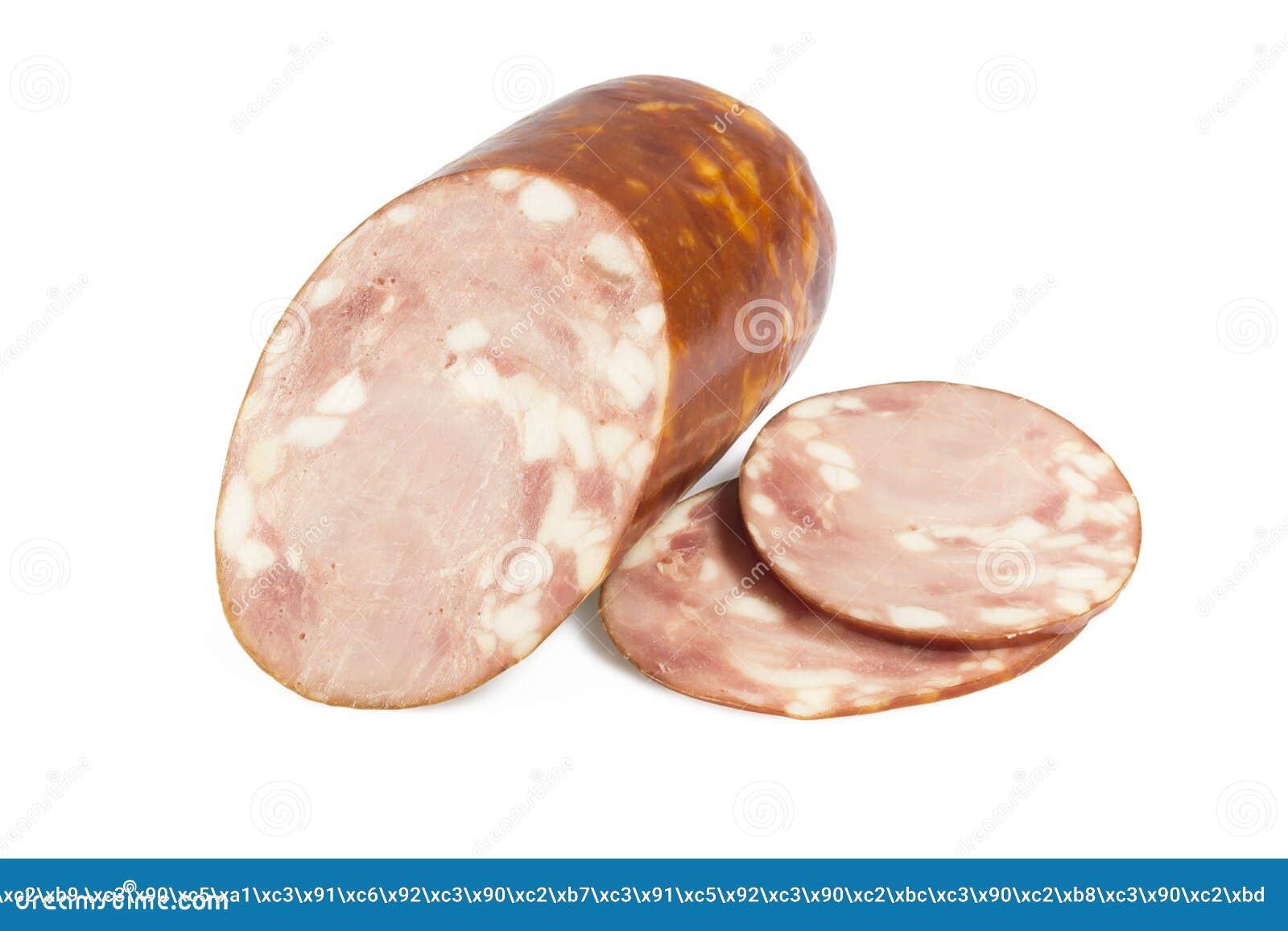 Кусок сосиски