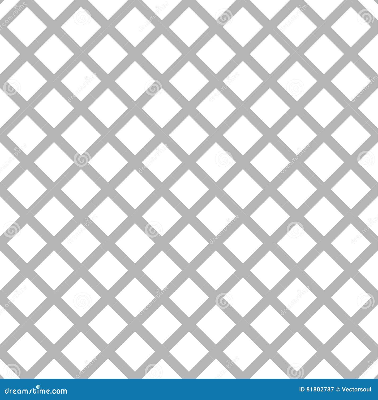 Клетчатый, картина решетки безшовная черно-белая