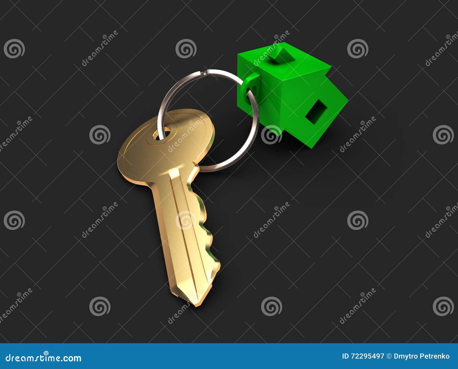 Download Ключ от квартиры иллюстрация штока. иллюстрации насчитывающей уговариваний - 72295497