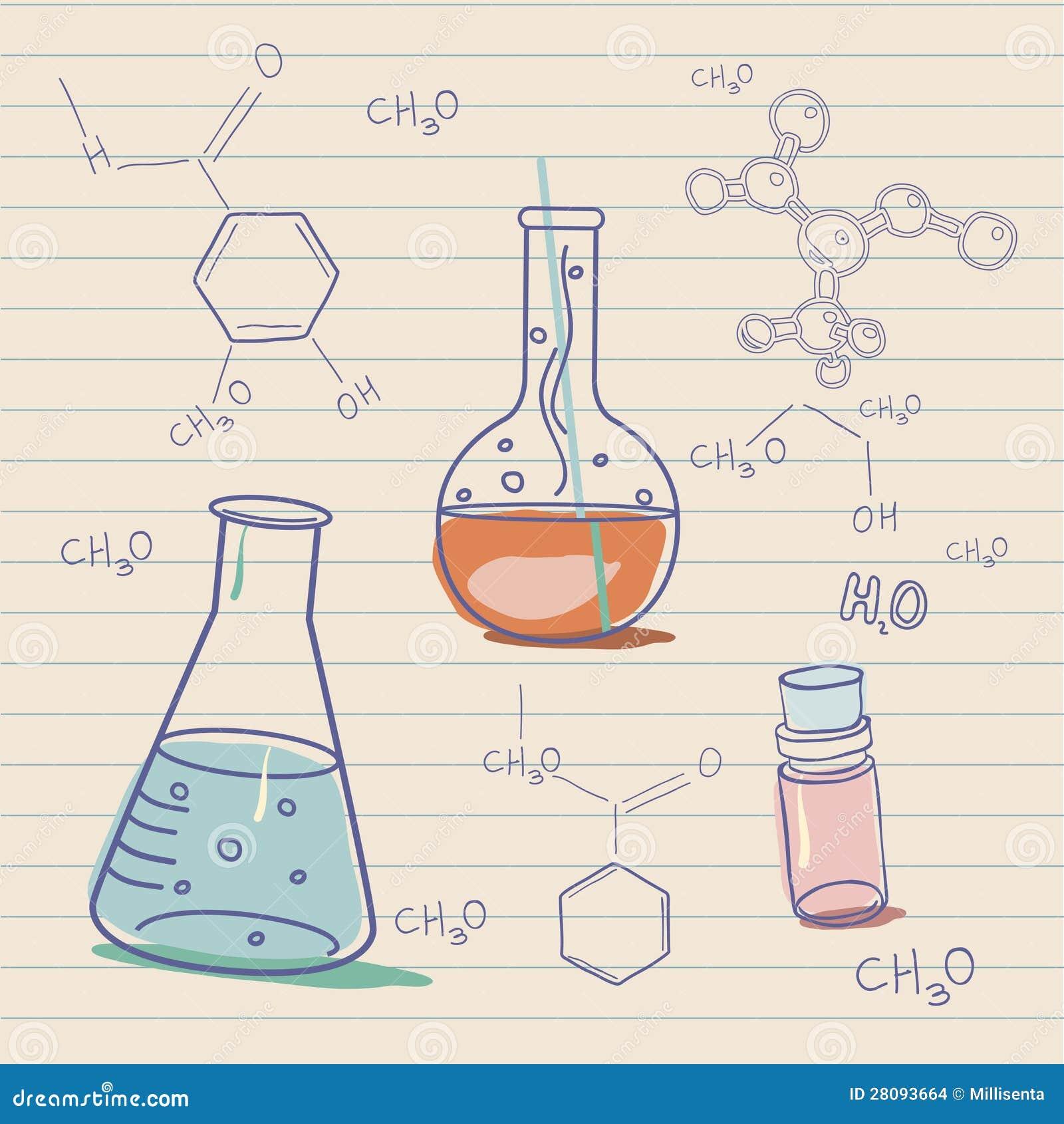 Как рисуют химию