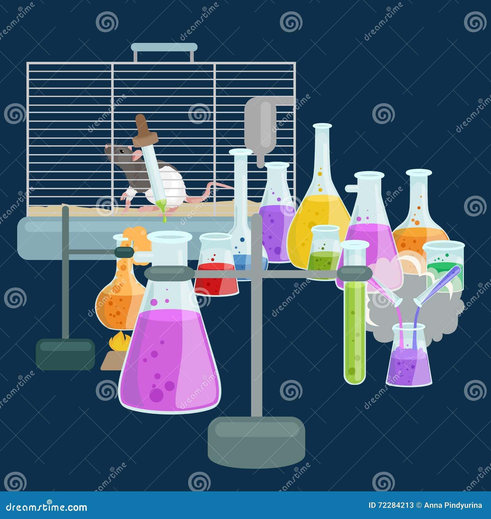 Download Лабораторное оборудование исследования образования химии, стеклянная лампа научной лаборатории, вектор Иллюстрация вектора - иллюстрации насчитывающей green, оборудование: 72284213