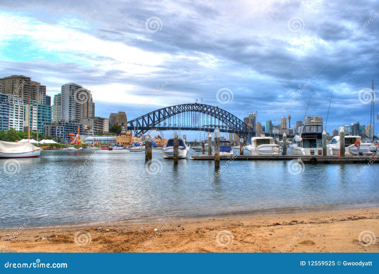лаванда Сидней гавани залива