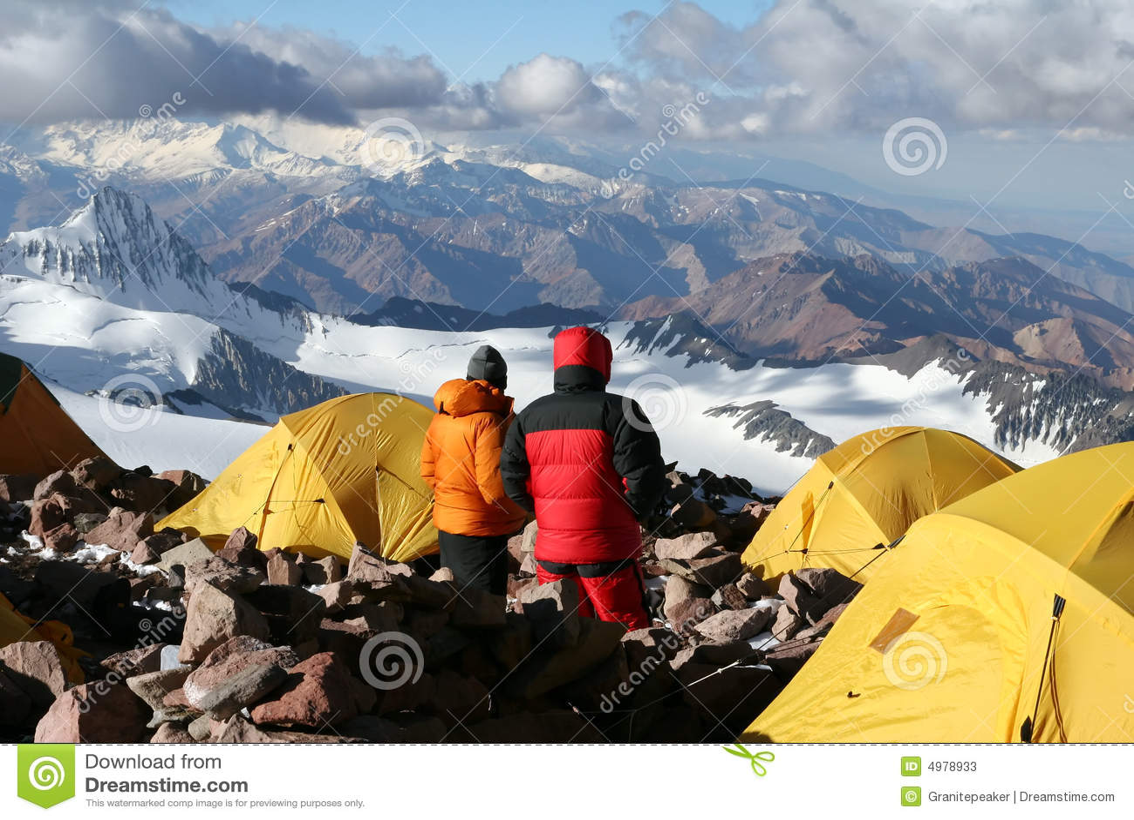 лагерь 2 aconcagua