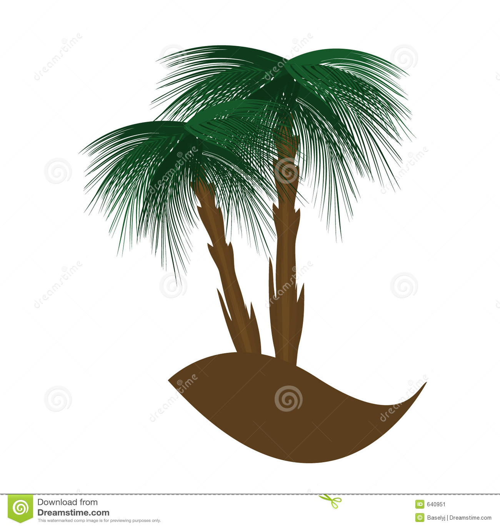 Download ладонь иллюстрация вектора. иллюстрации насчитывающей оазис - 640951
