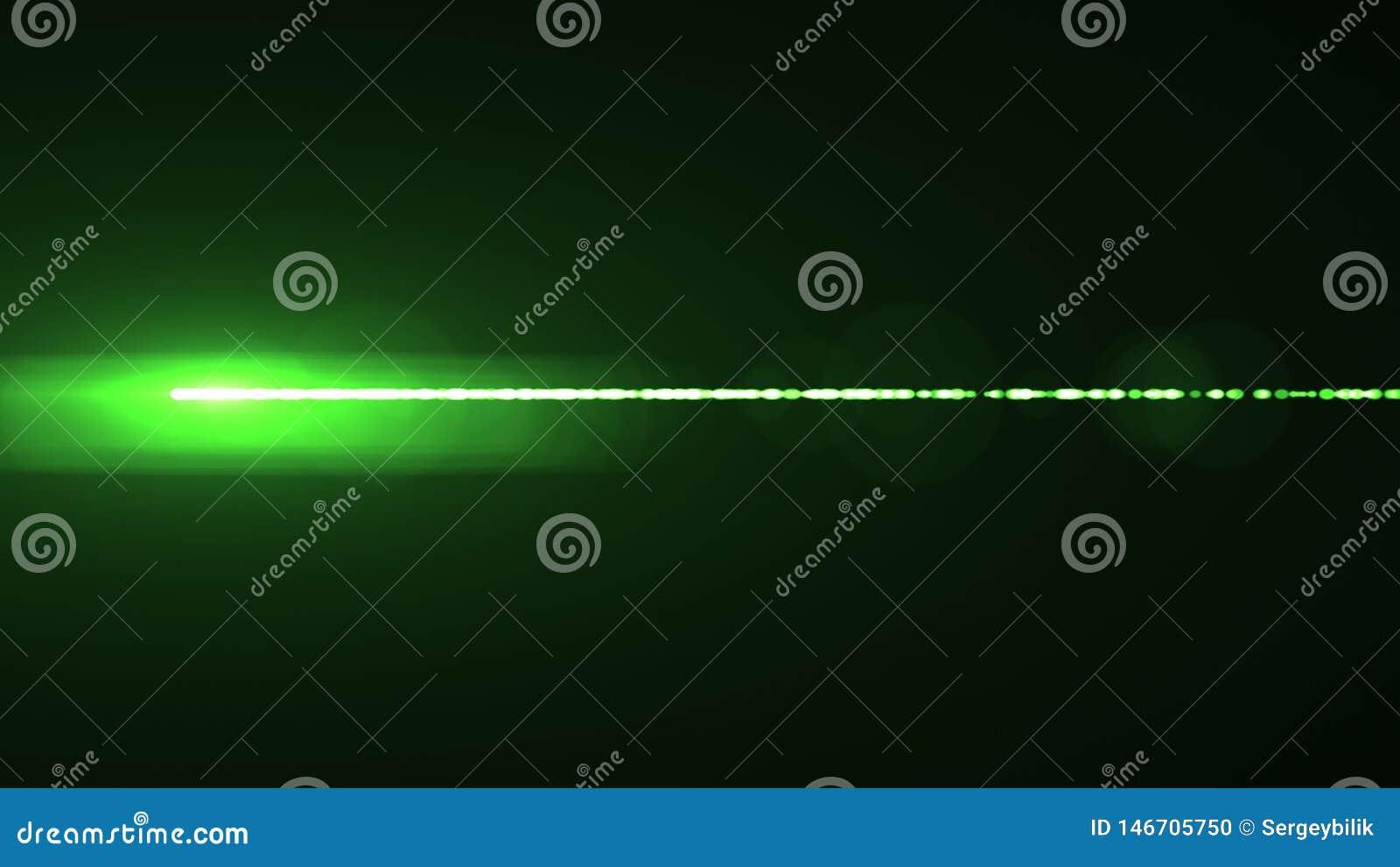 Лампа горизонтальной предпосылки искусства иллюстрации bokeh пирофакелов оптически объектива лазерных лучей сияющей новая качеств