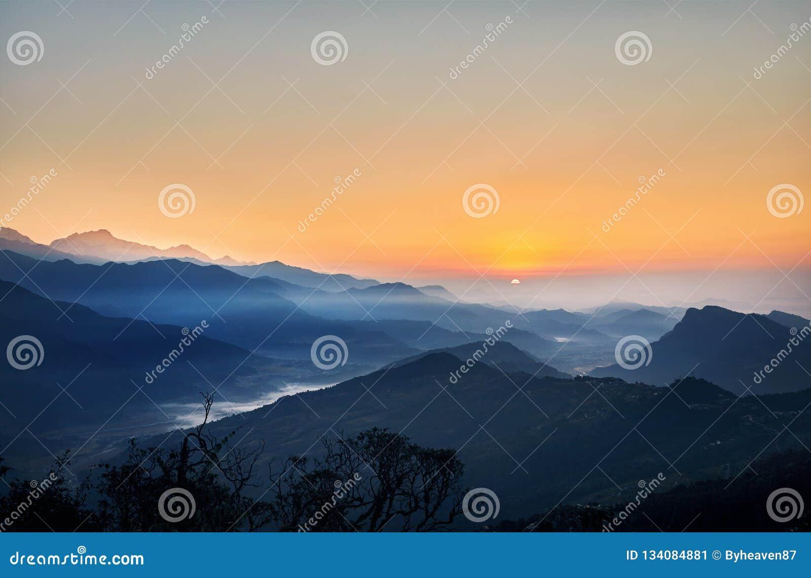 Ландшафт гималайских гор