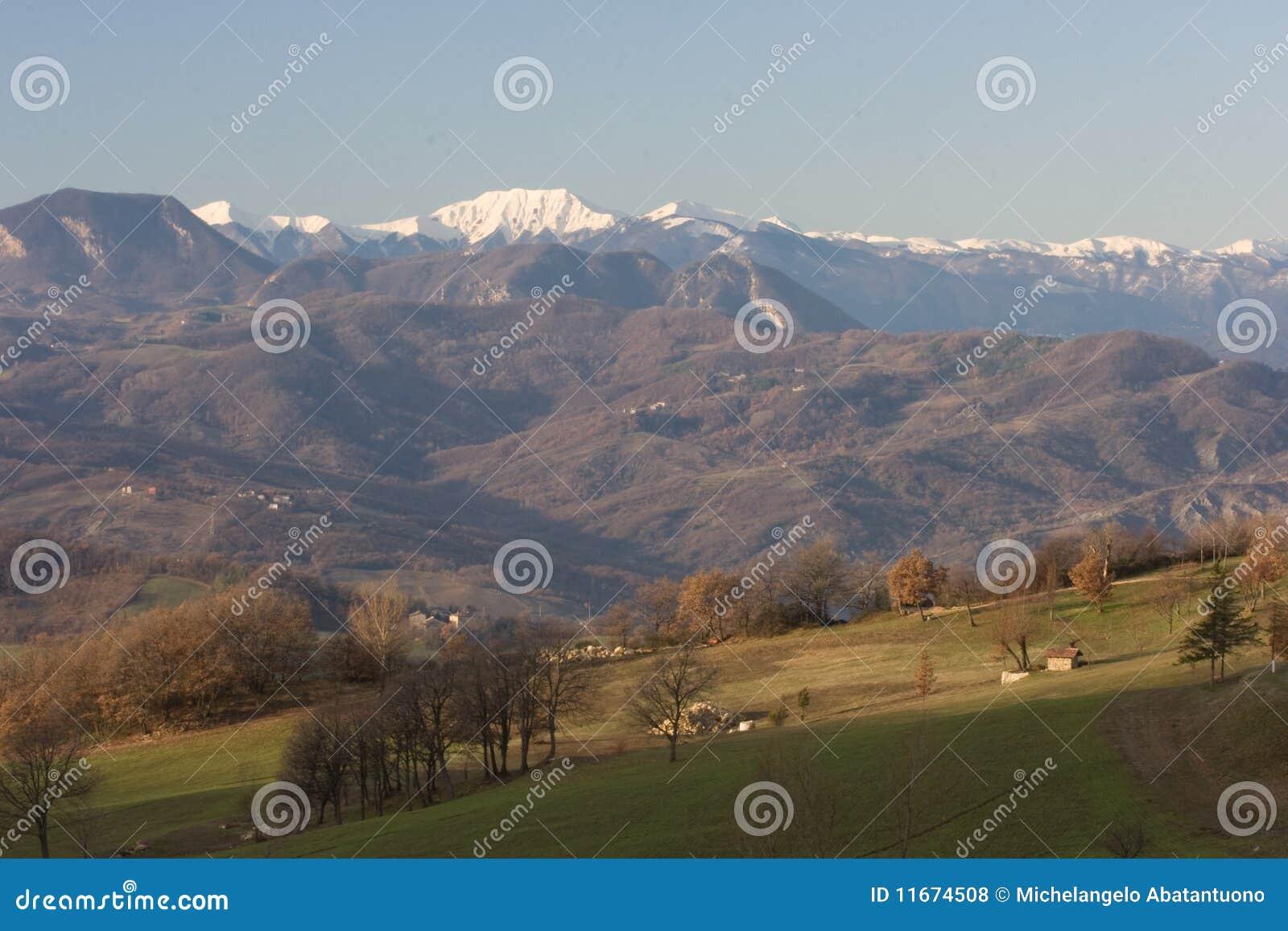 ландшафт Италии