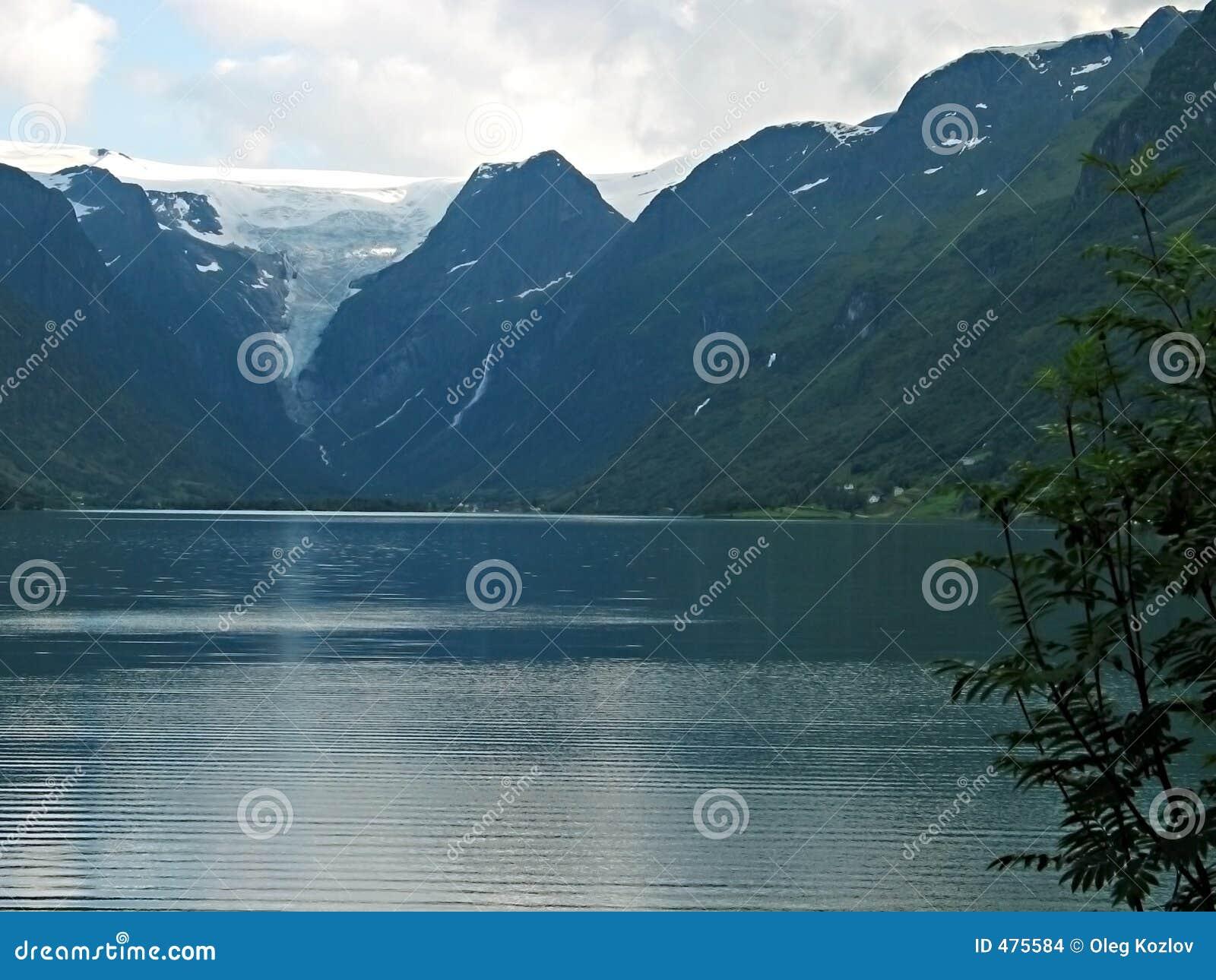 ландшафт ледника