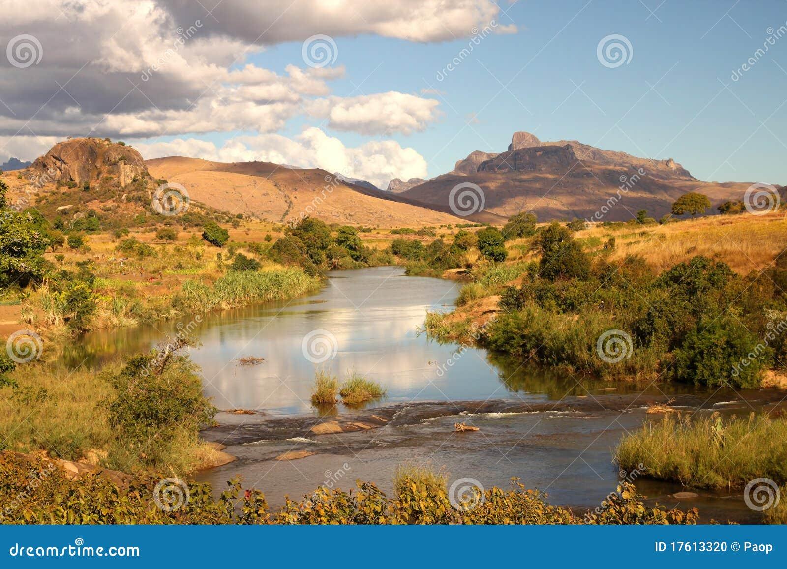 ландшафт Мадагаскар
