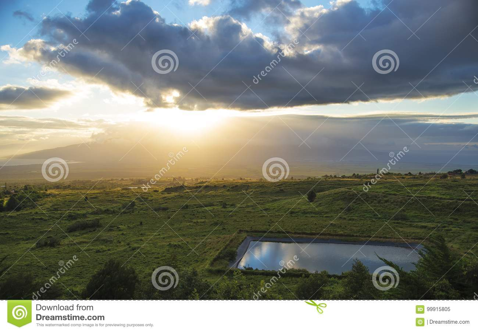 Ландшафт Мауи