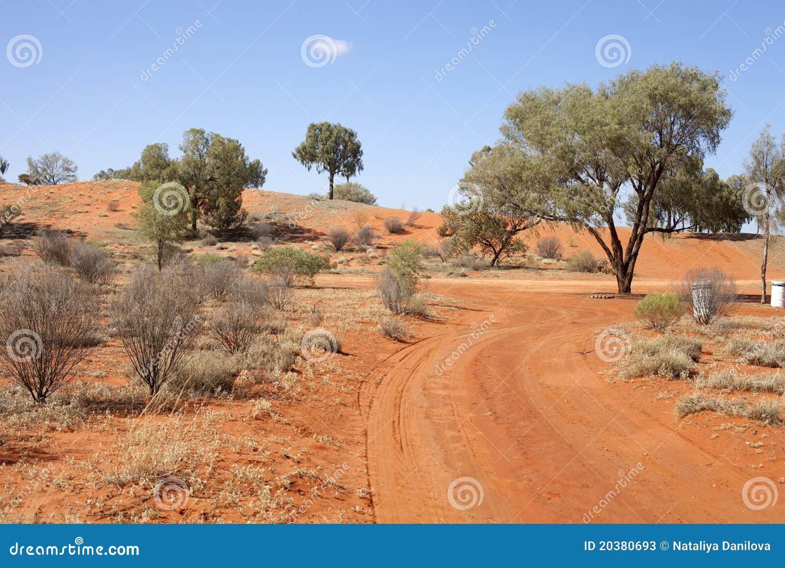 ландшафт пустыни
