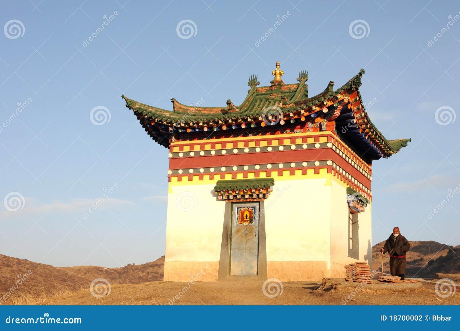 ландшафт Тибет