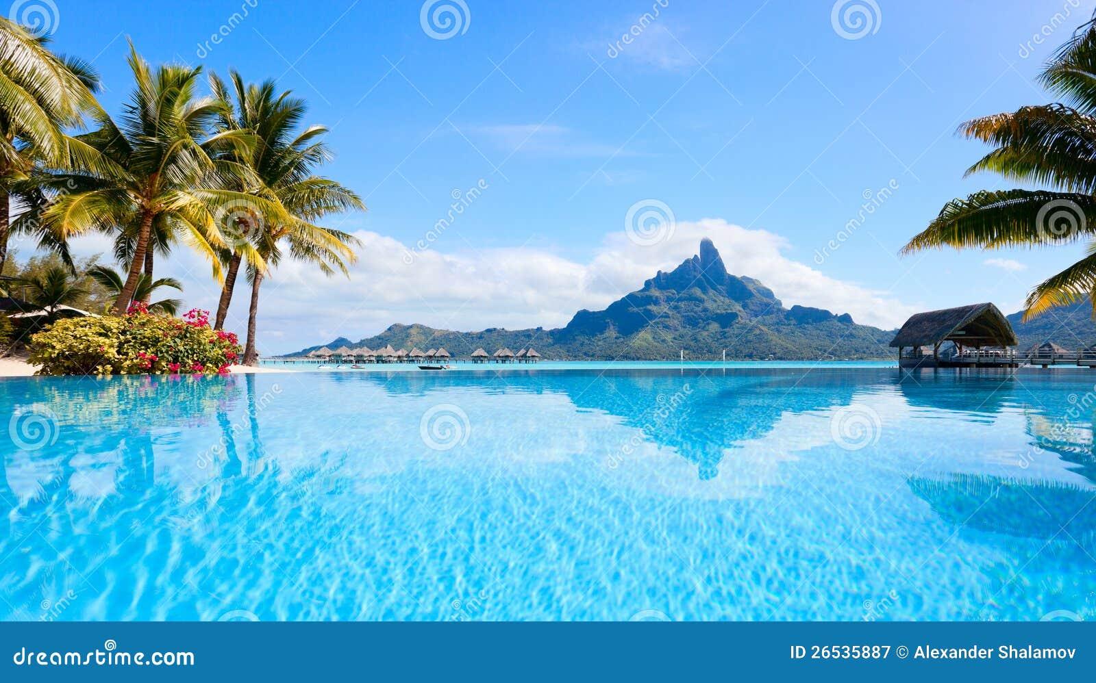Ландшафт Bora Bora