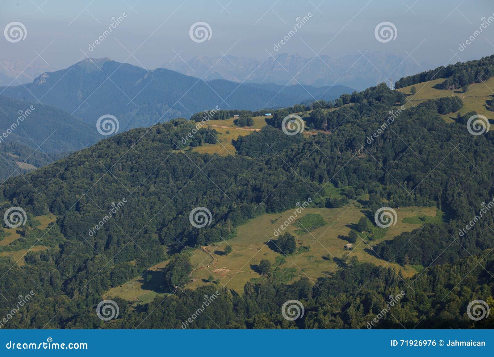 Ландшафт в горах