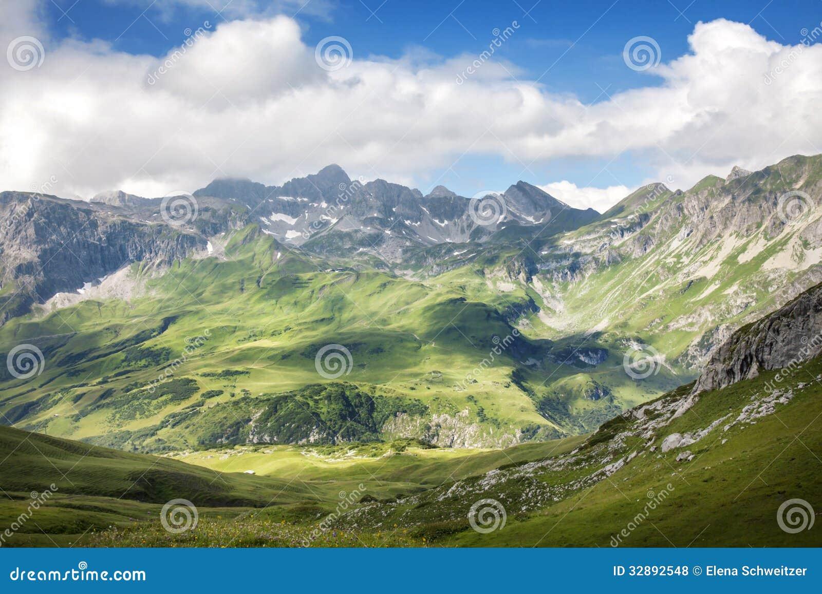 Ландшафт гор