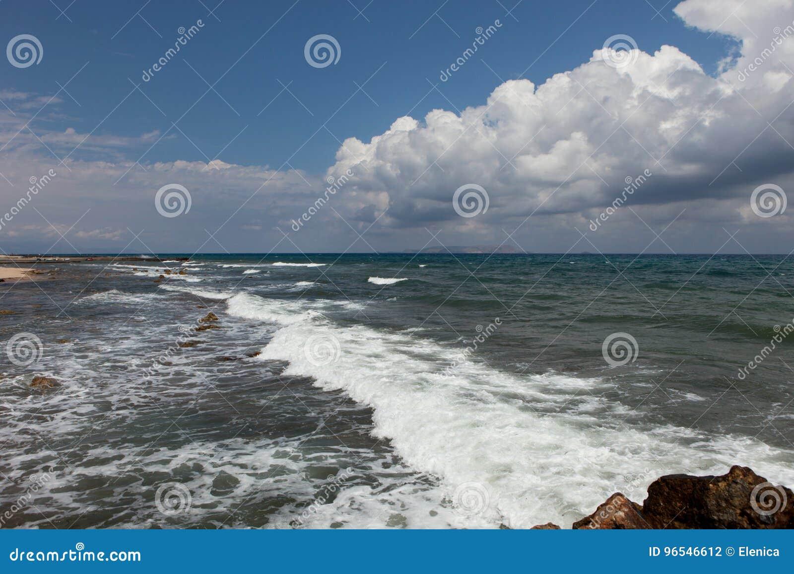 Ландшафт моря, Крит Analipsi