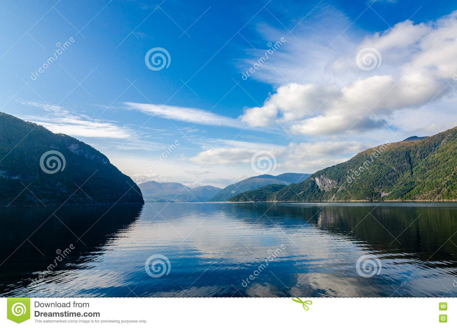 Ландшафт Норвегии