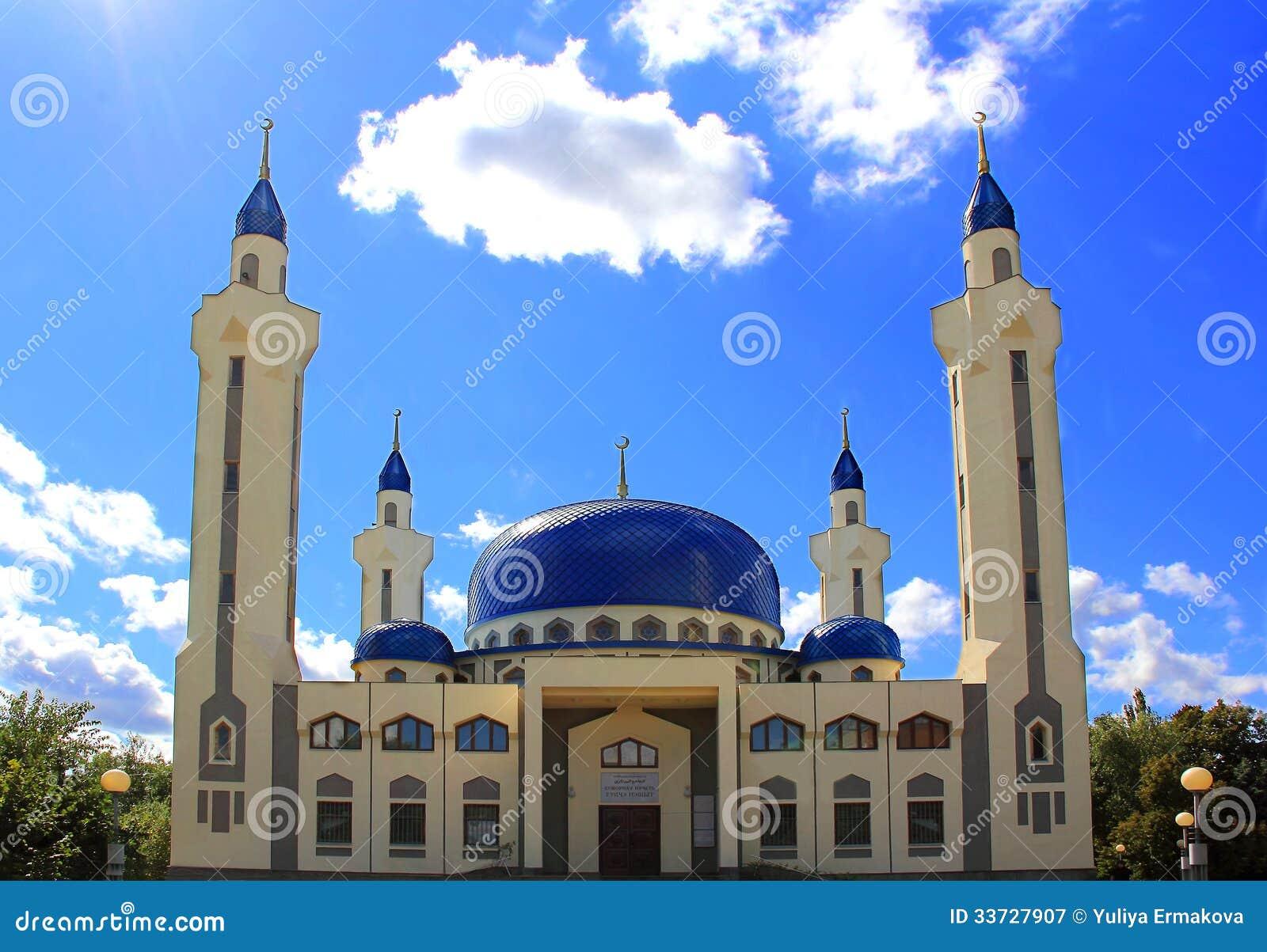 Ландшафт с виском ислама южной России
