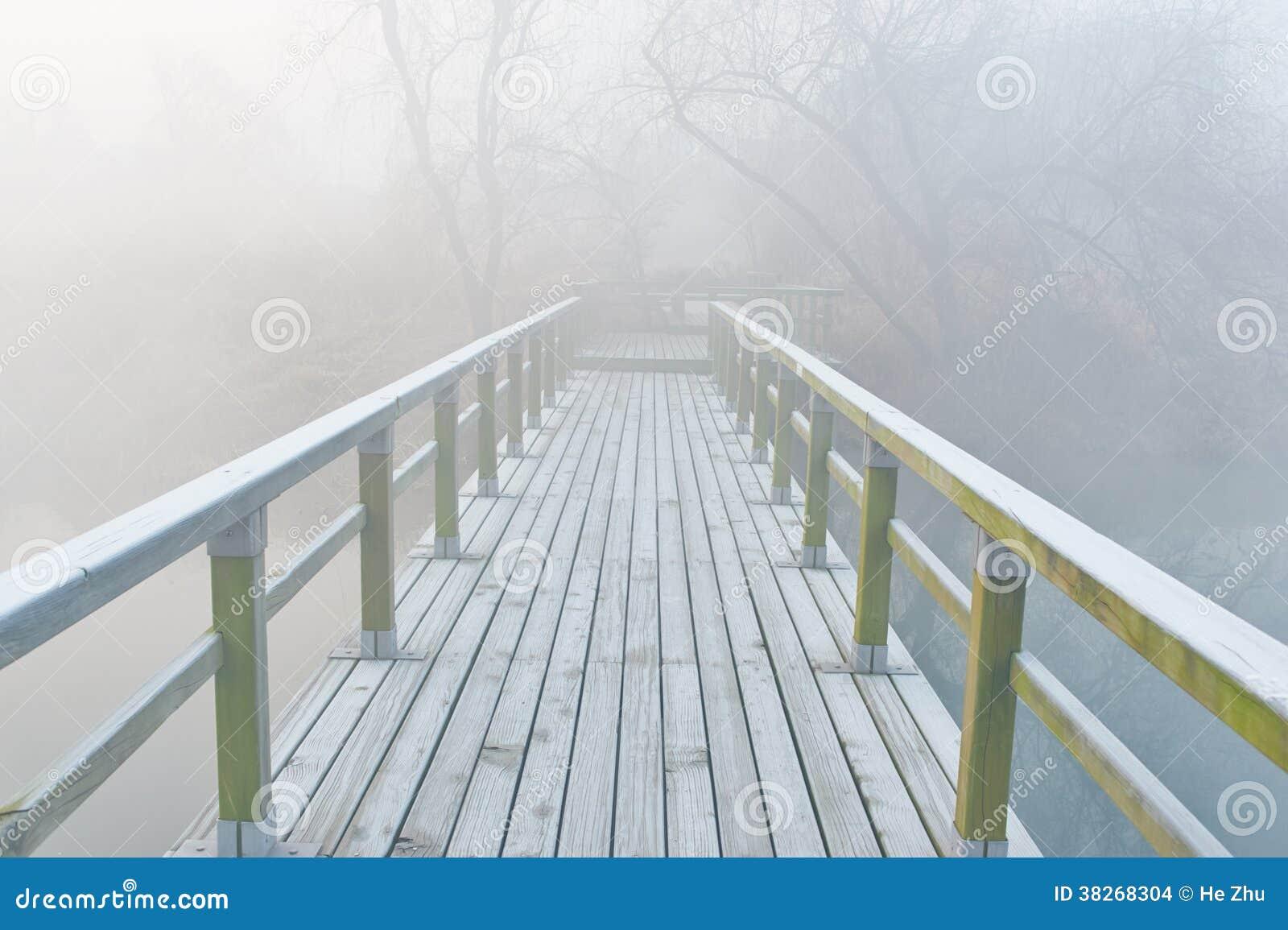 Ландшафт тумана