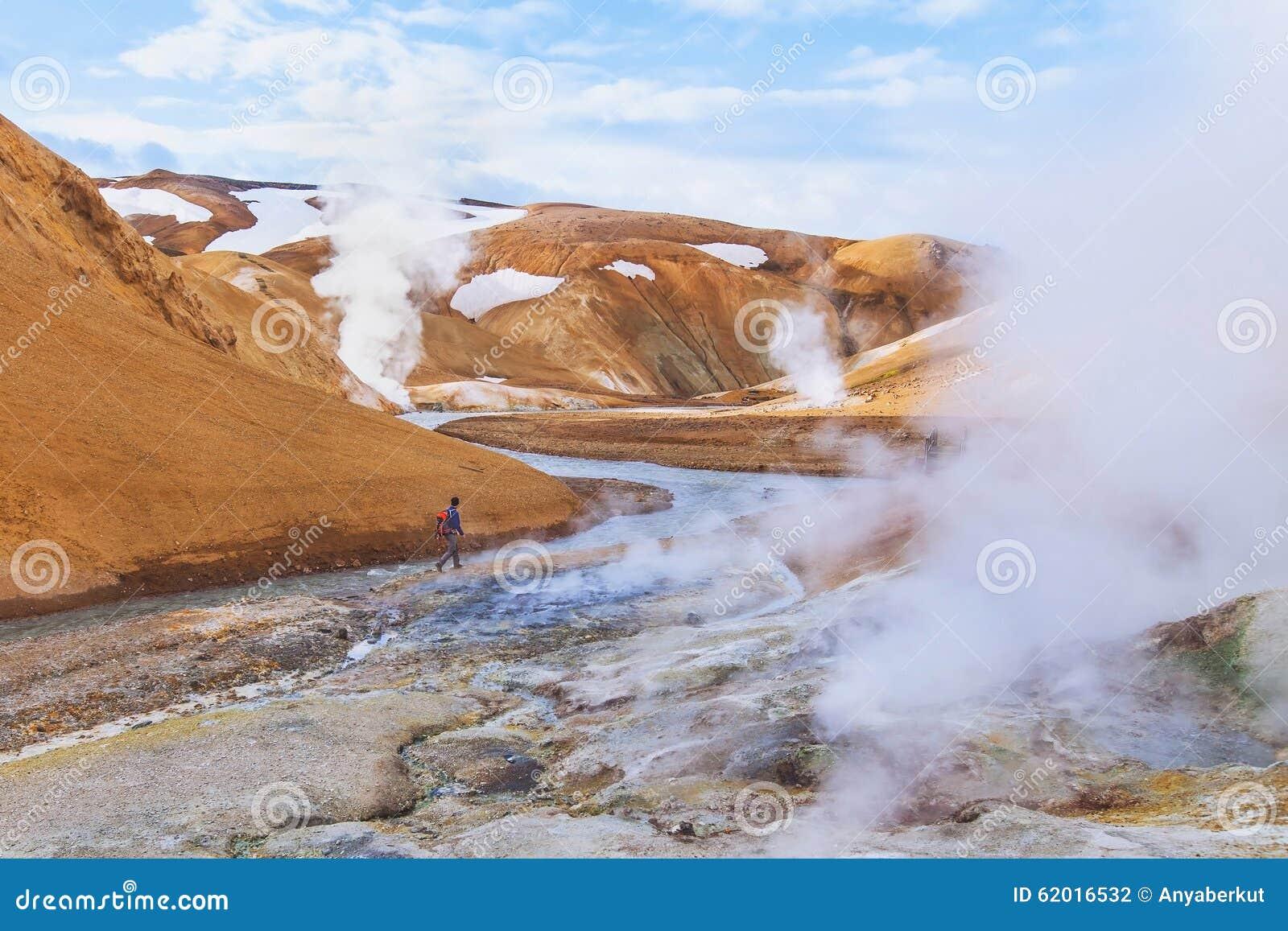 Ландшафт луны от Исландии