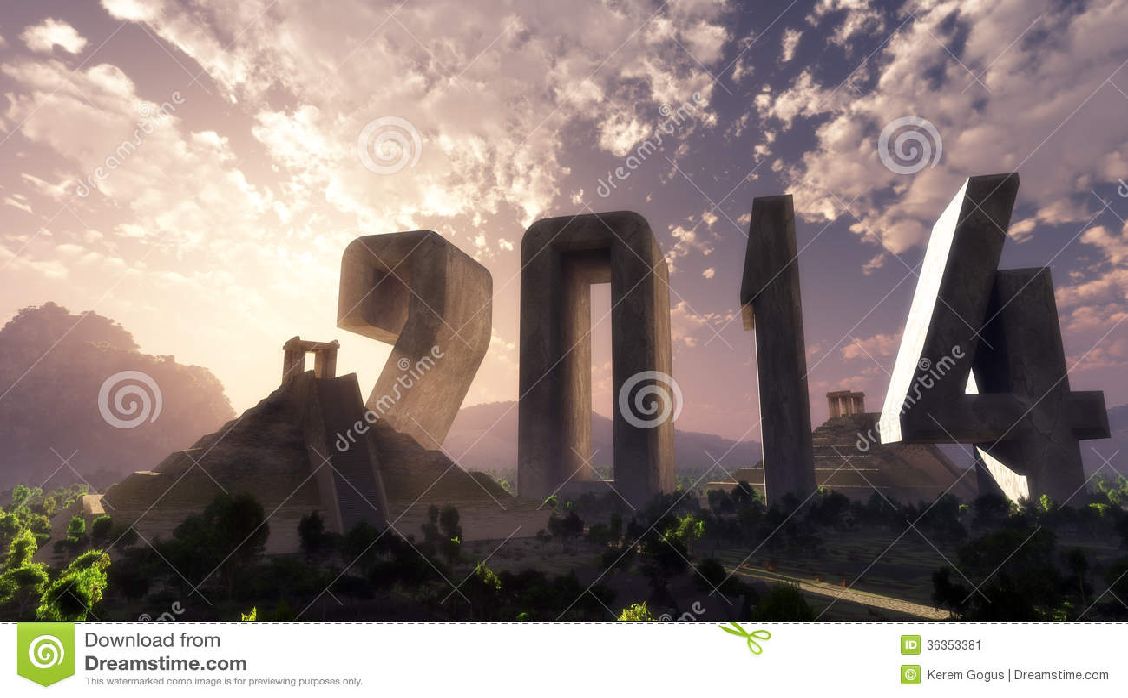Ландшафт 2014 фантазии года