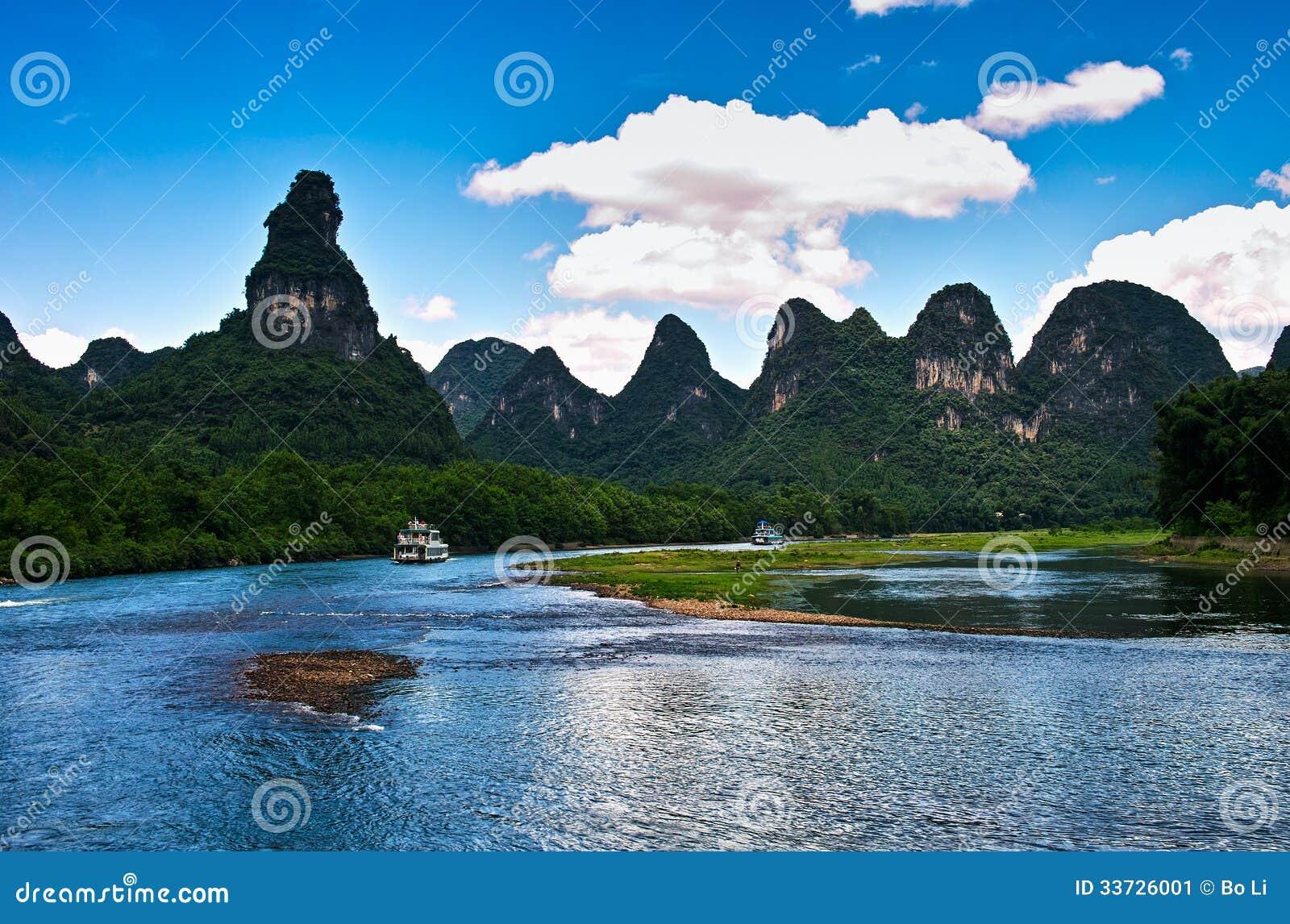 Ландшафт li jiang