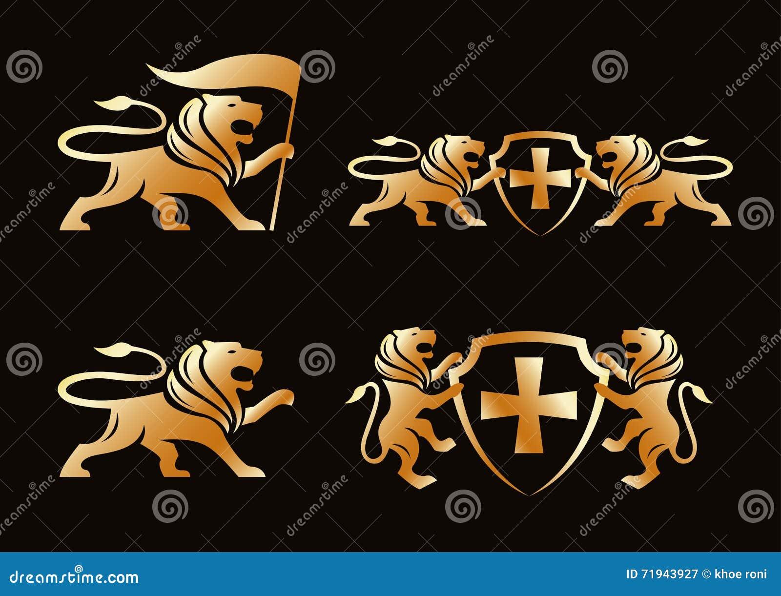 Лев золота
