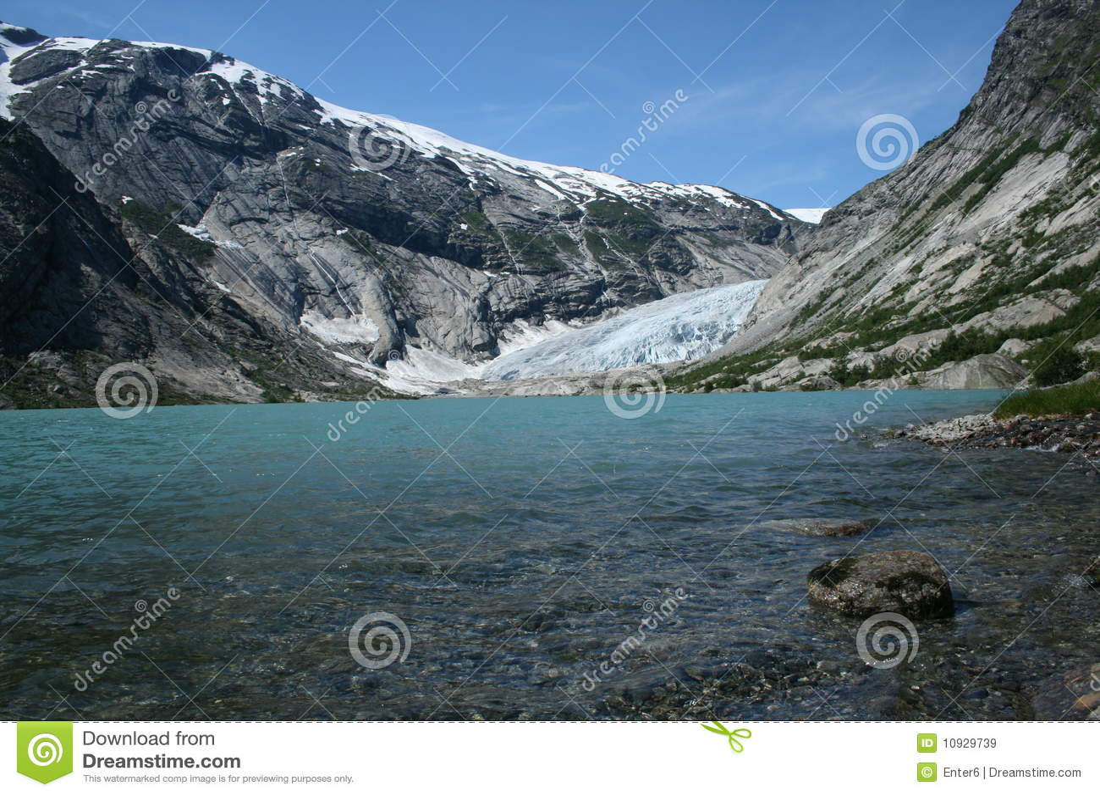 ледник nigardsbreen