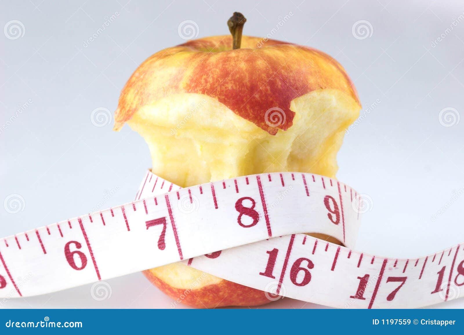 лента измерения яблока