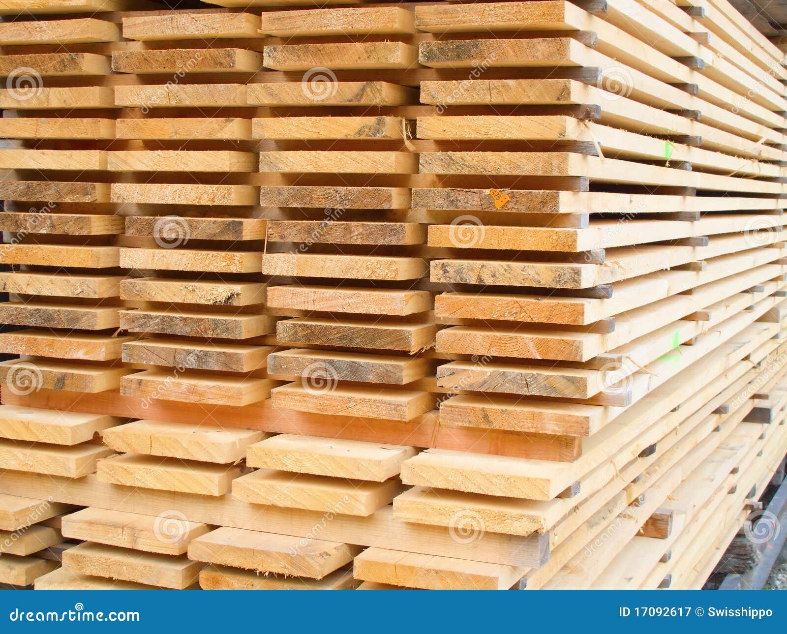 лесной склад