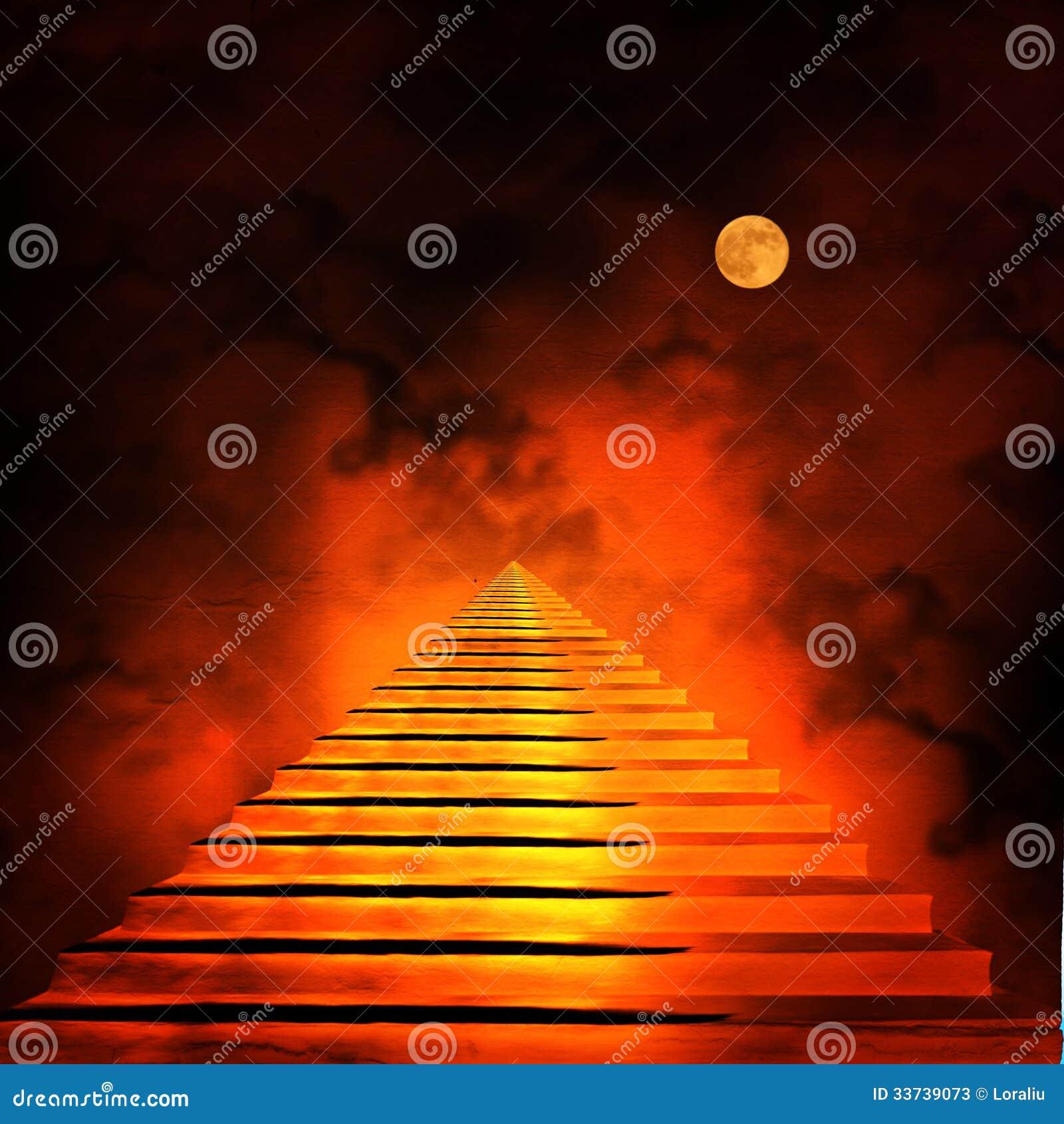 Лестница водя к раю или аду.