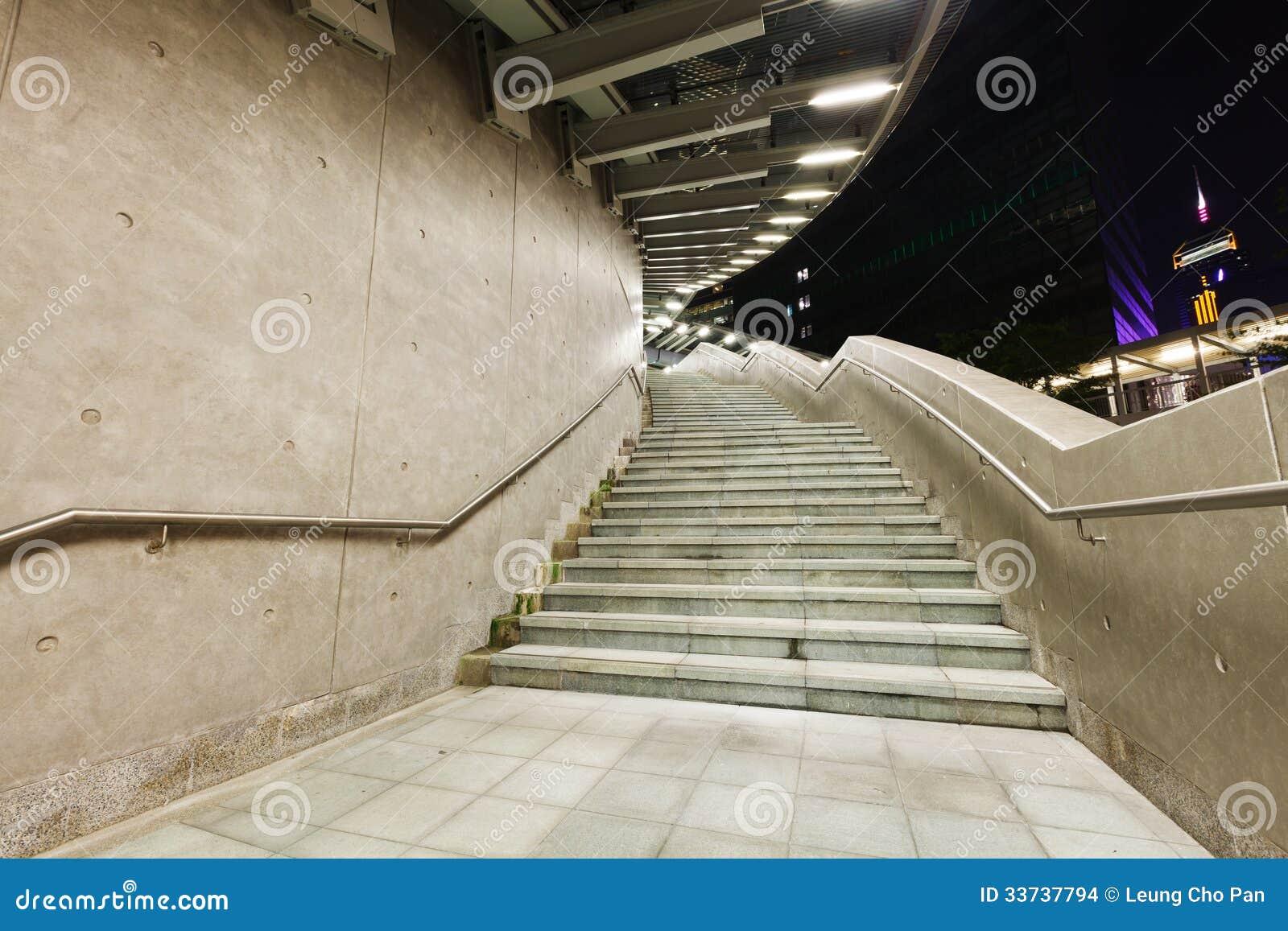 Лестница цемента
