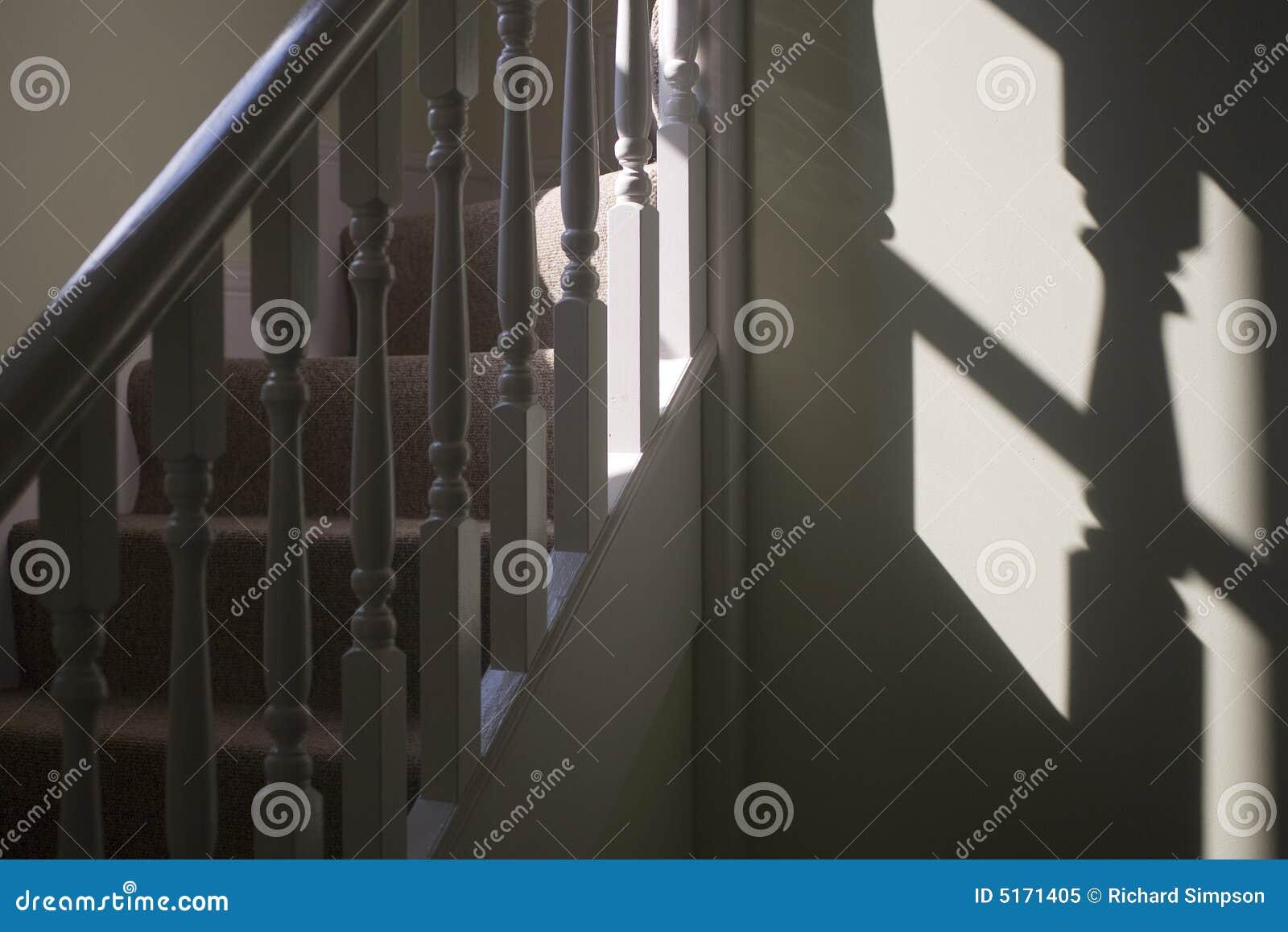 лестницы тени railing