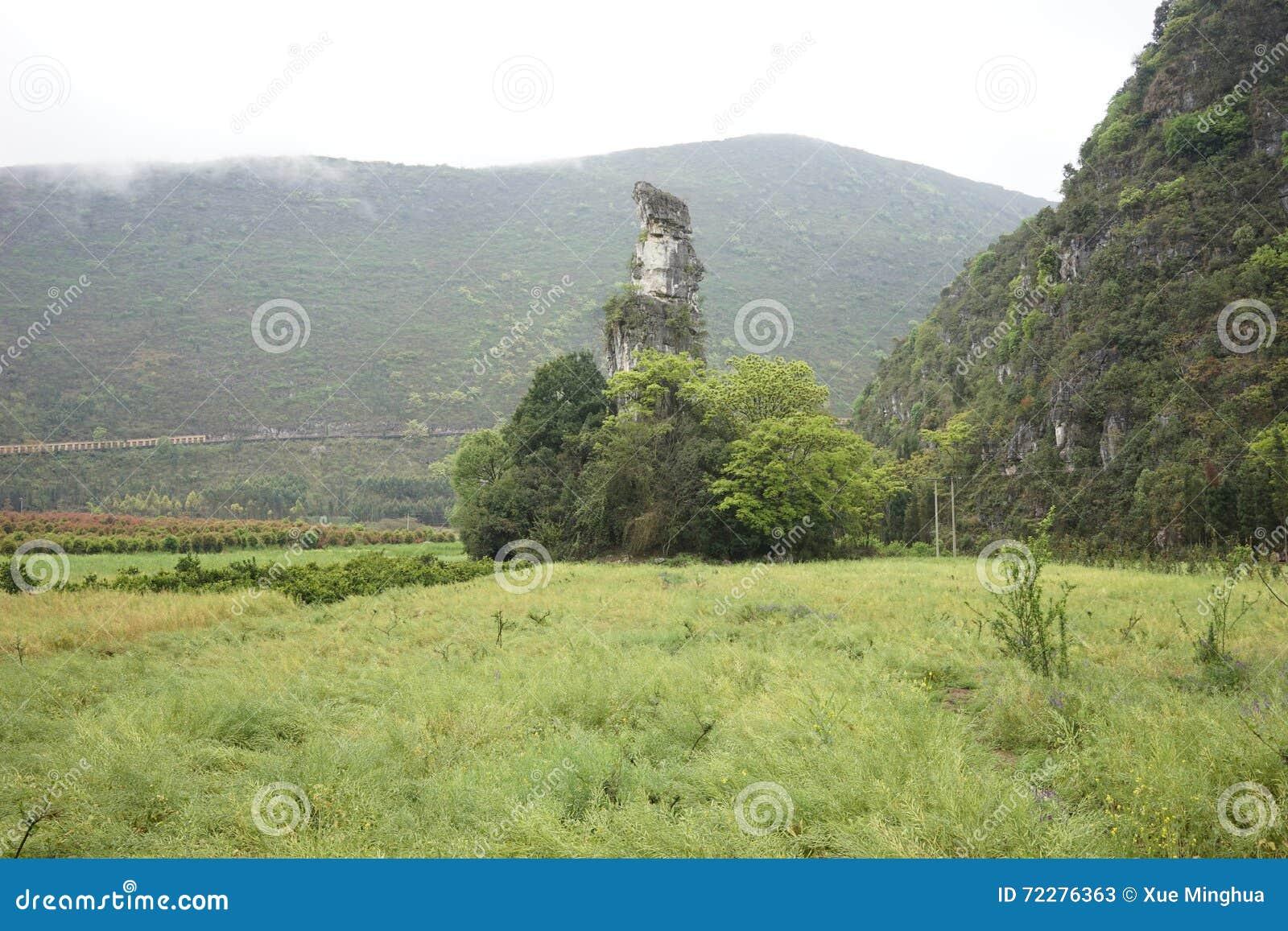 Download Лес 10 тысяч пиков стоковое изображение. изображение насчитывающей городок - 72276363