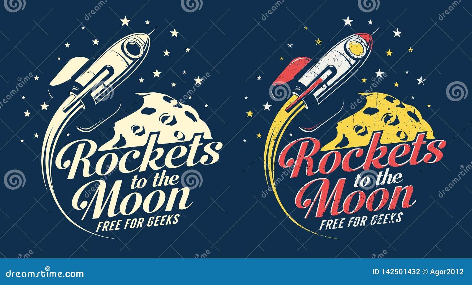 Летание ракеты космоса вокруг планеты с кратерами