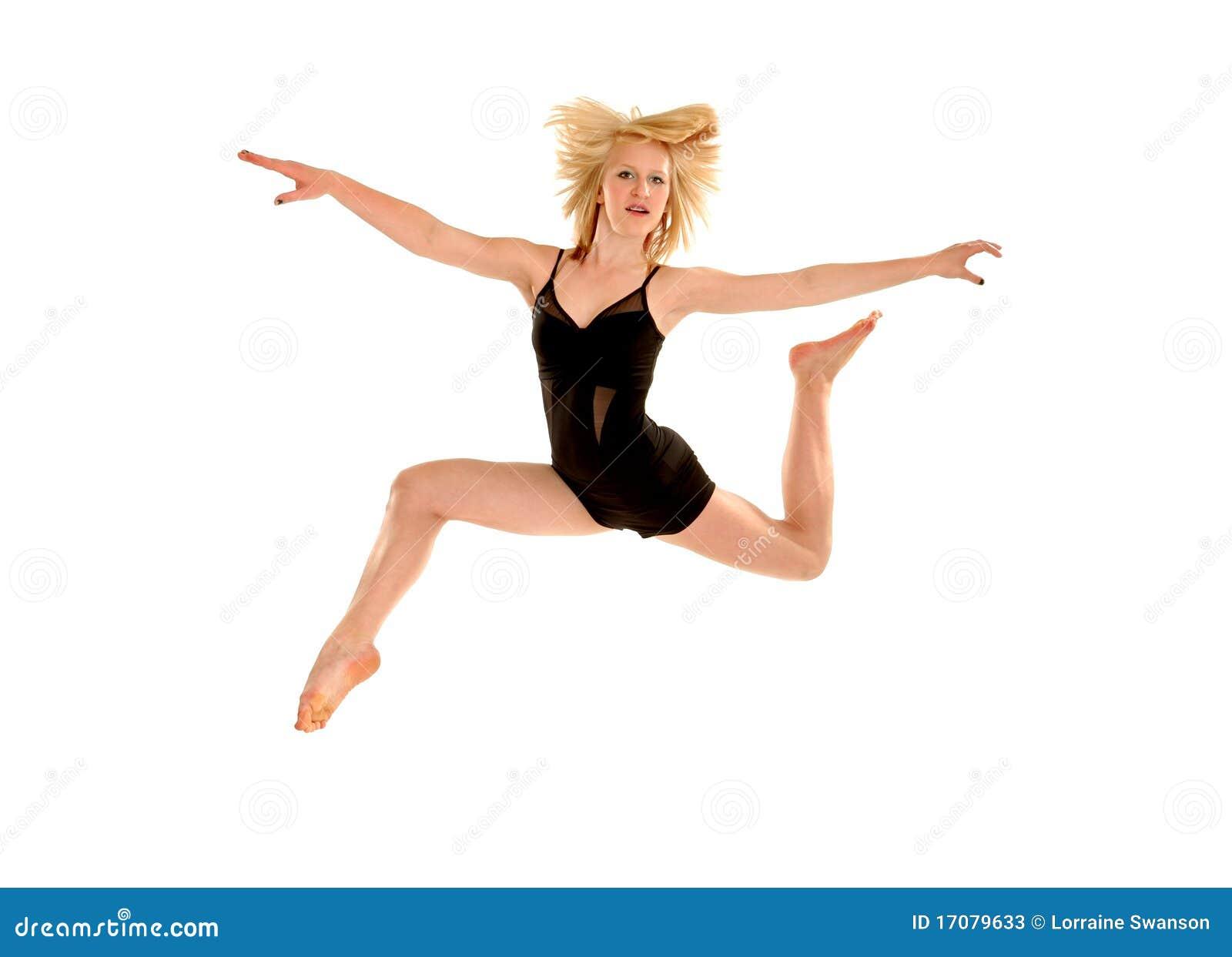 летание танцора