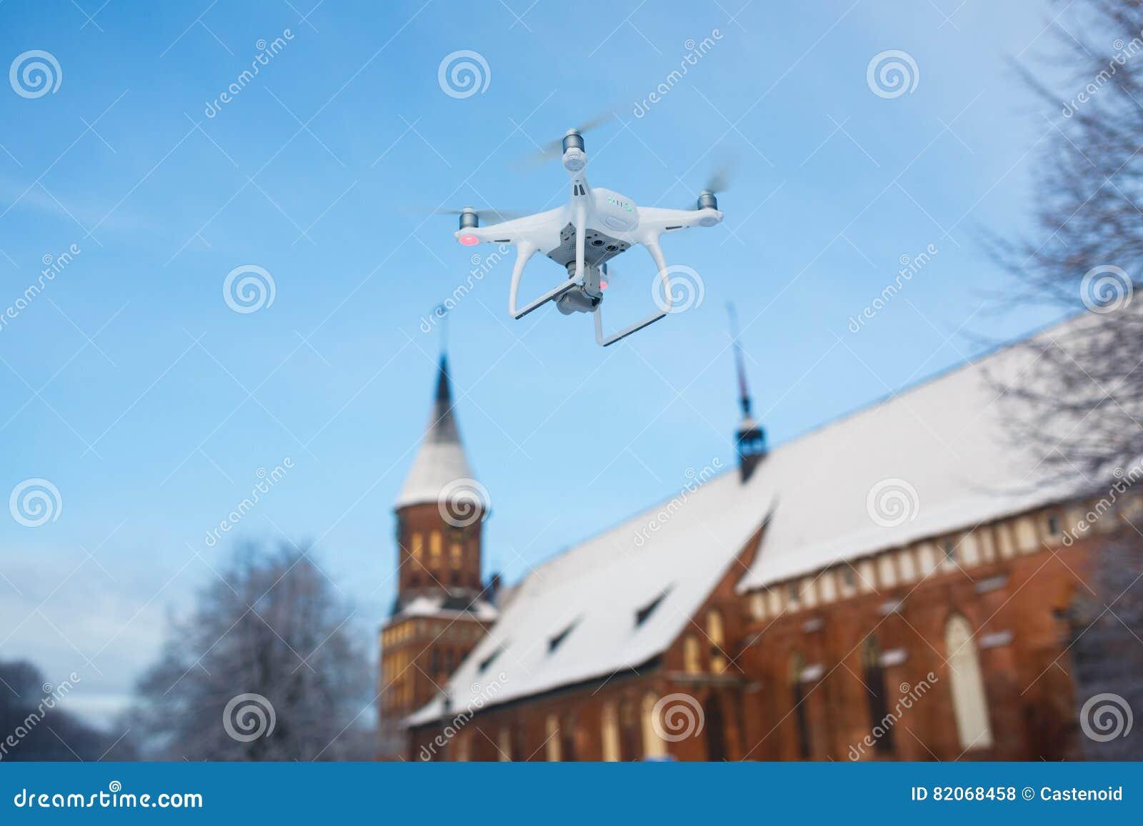 Летать над Калининградом