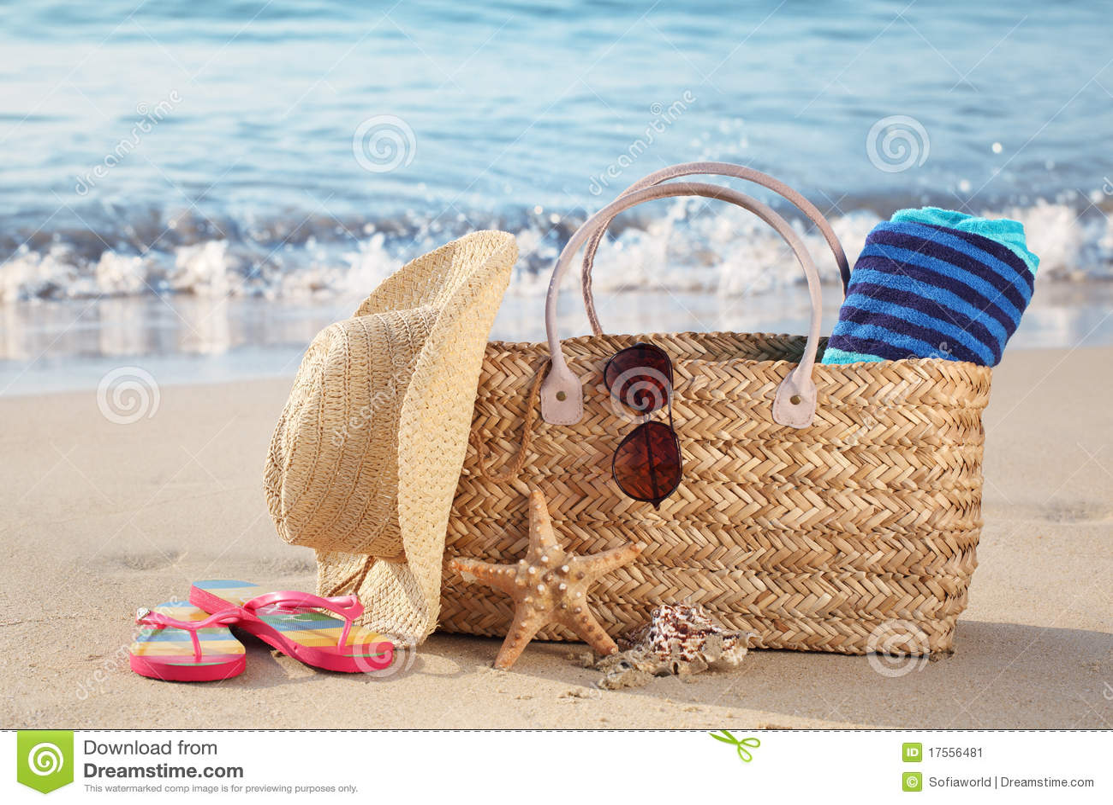 лето пляжа мешка песочное