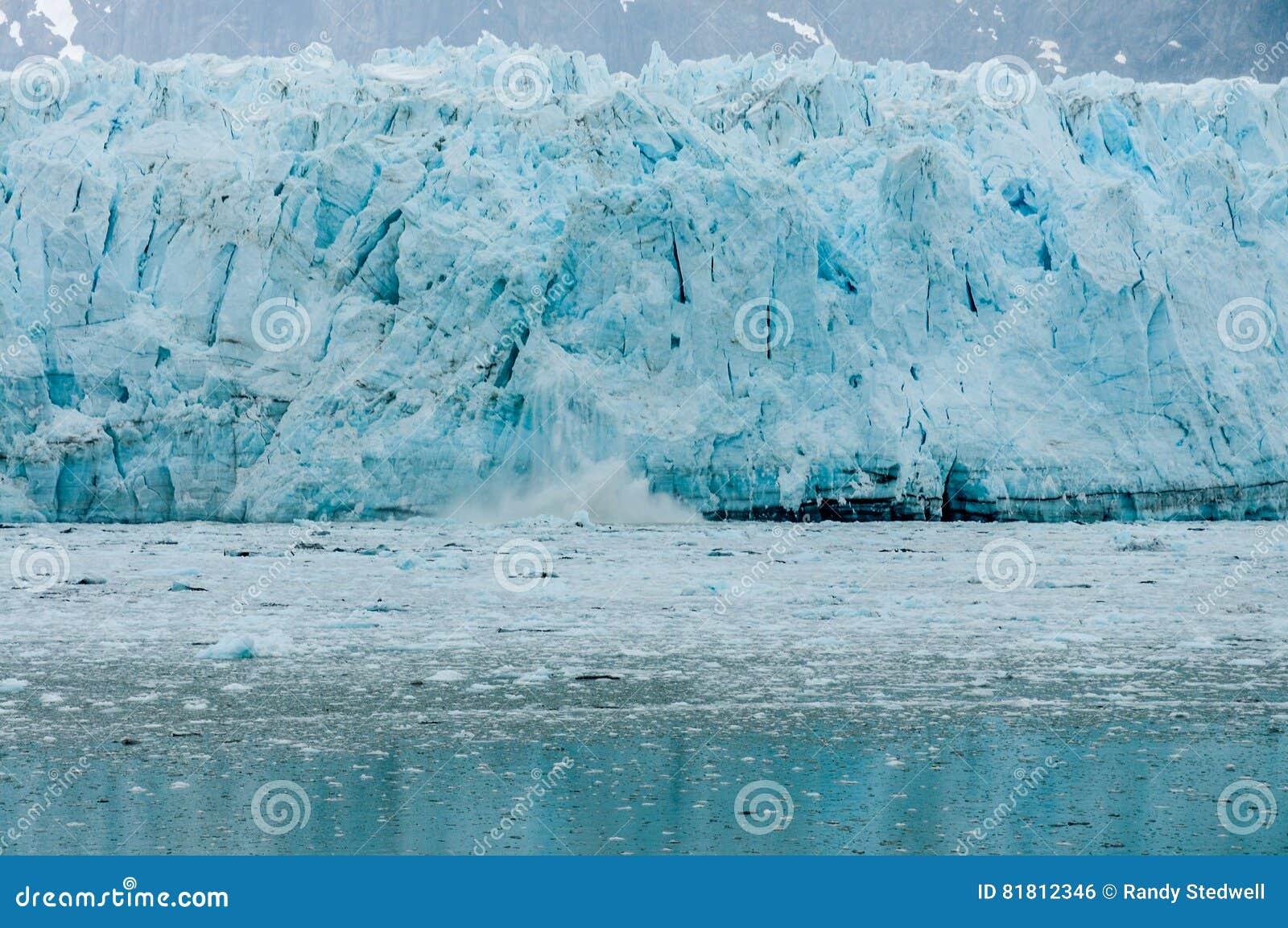Ледник Hubbard Аляски