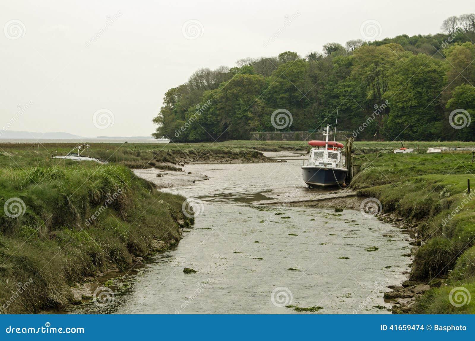Лиман Taf реки, Carmarthenshire