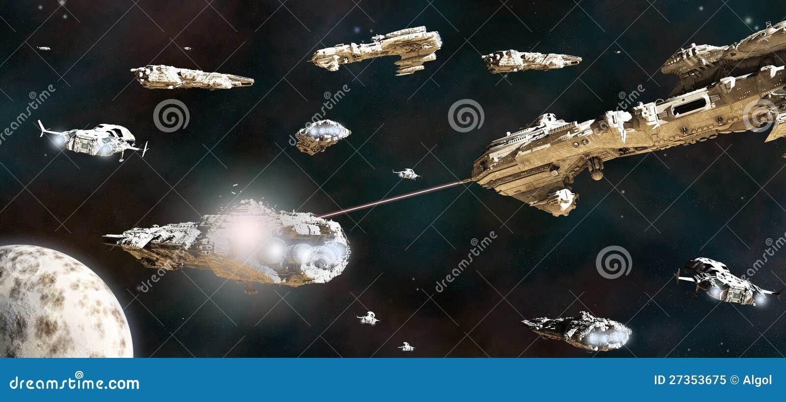 Линейный флот в действии