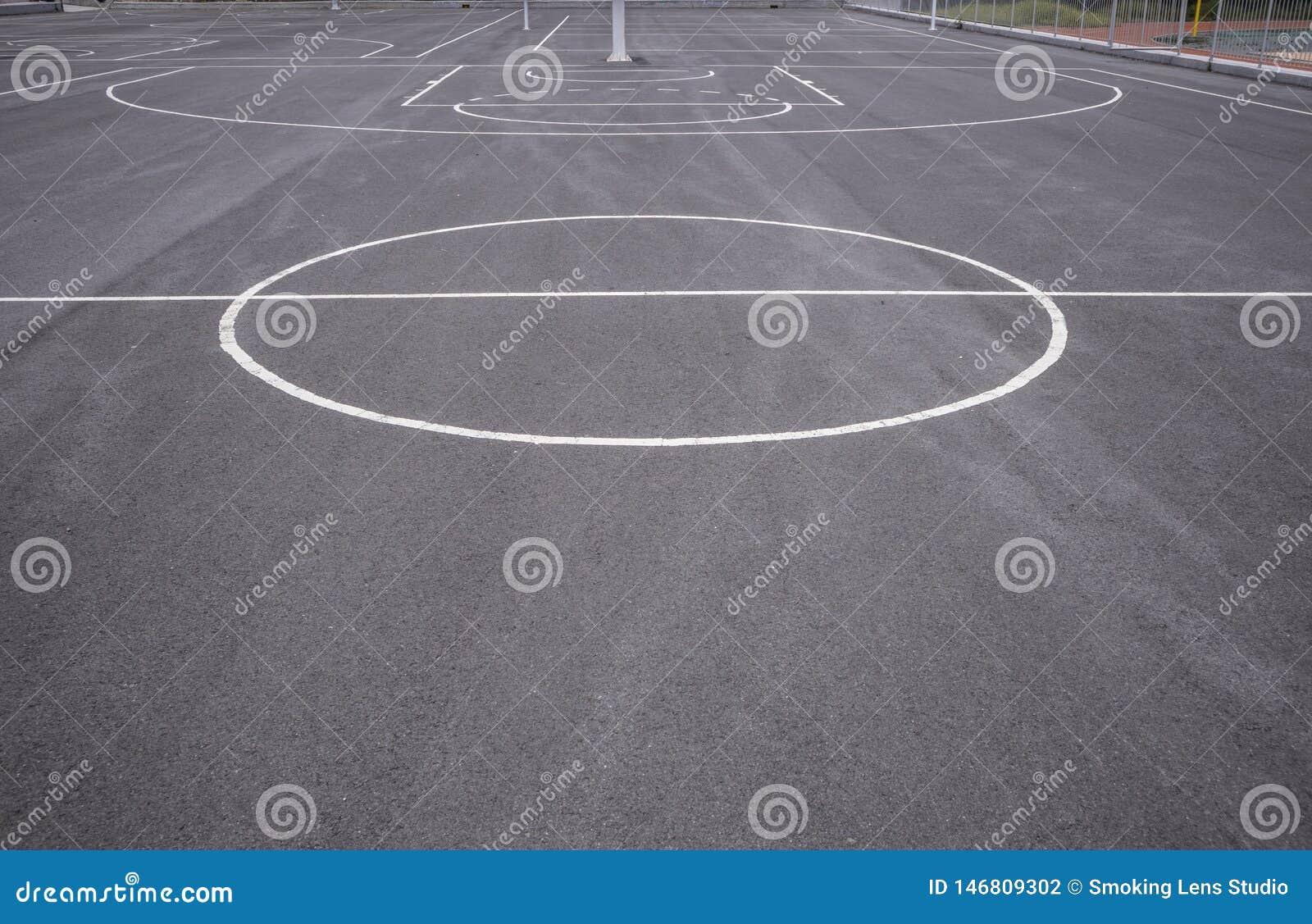 Линии баскетбольной площадки